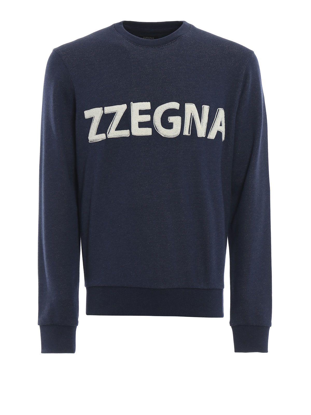 Z Zegna Logo Sweatshirt