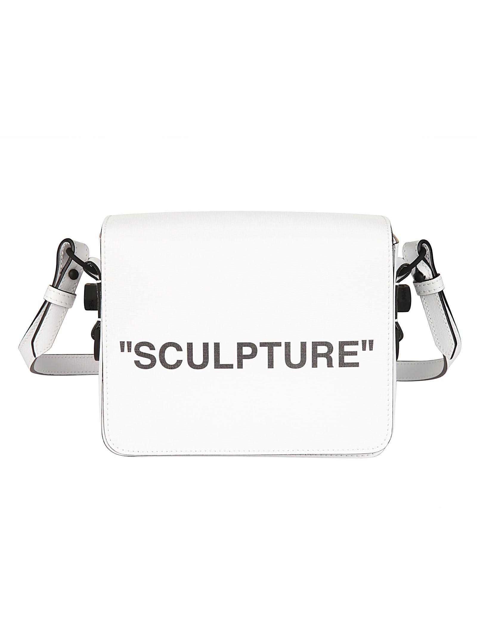 off-white -  Sculpture Binder Clip Shoulder Bag