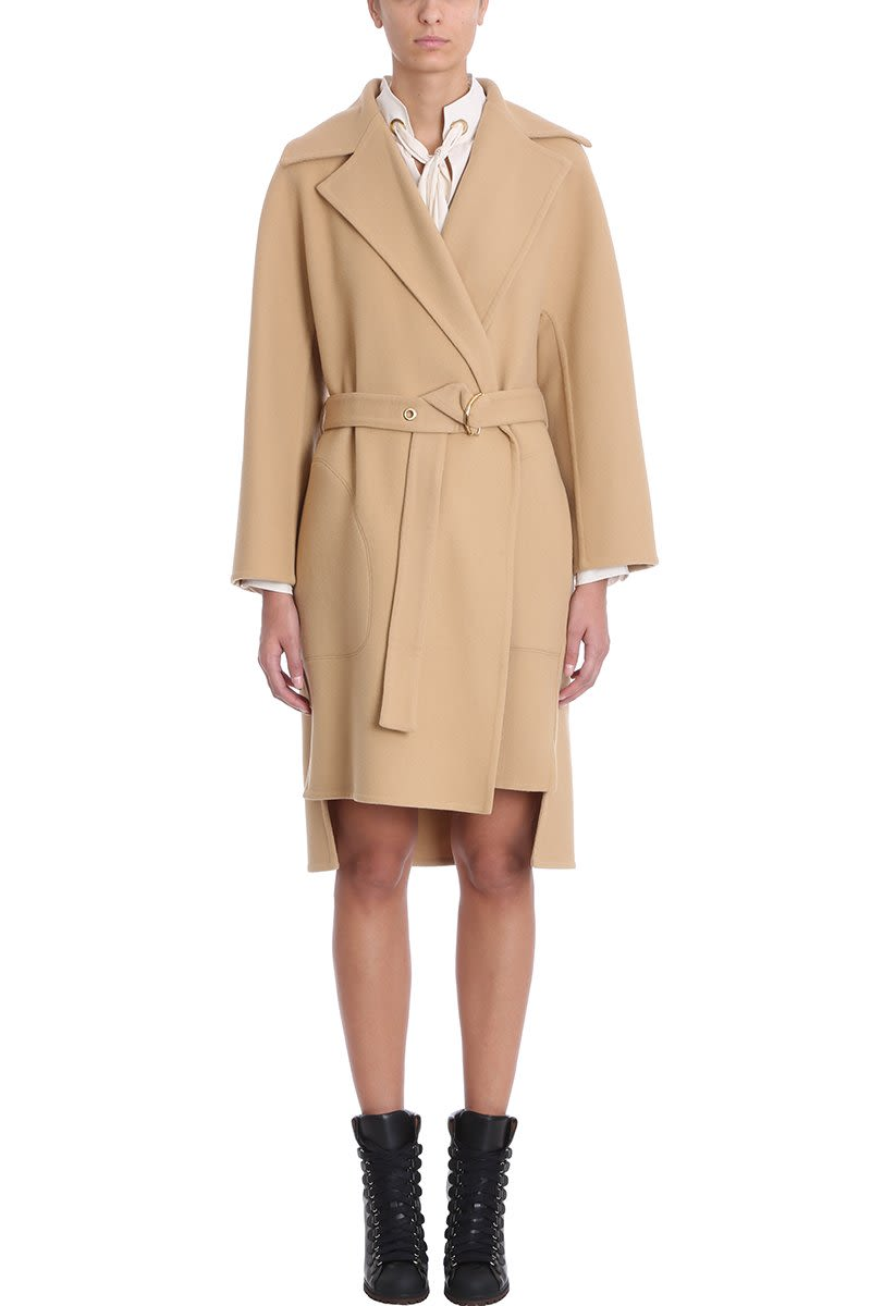 Chloé Light Brown Coat