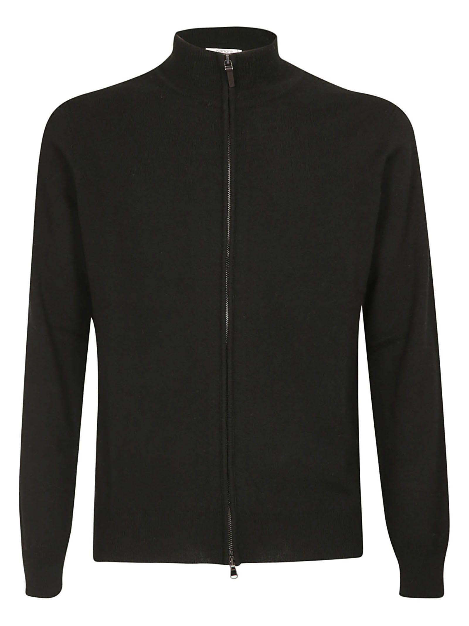 KANGRA Zipped Jacket in Black