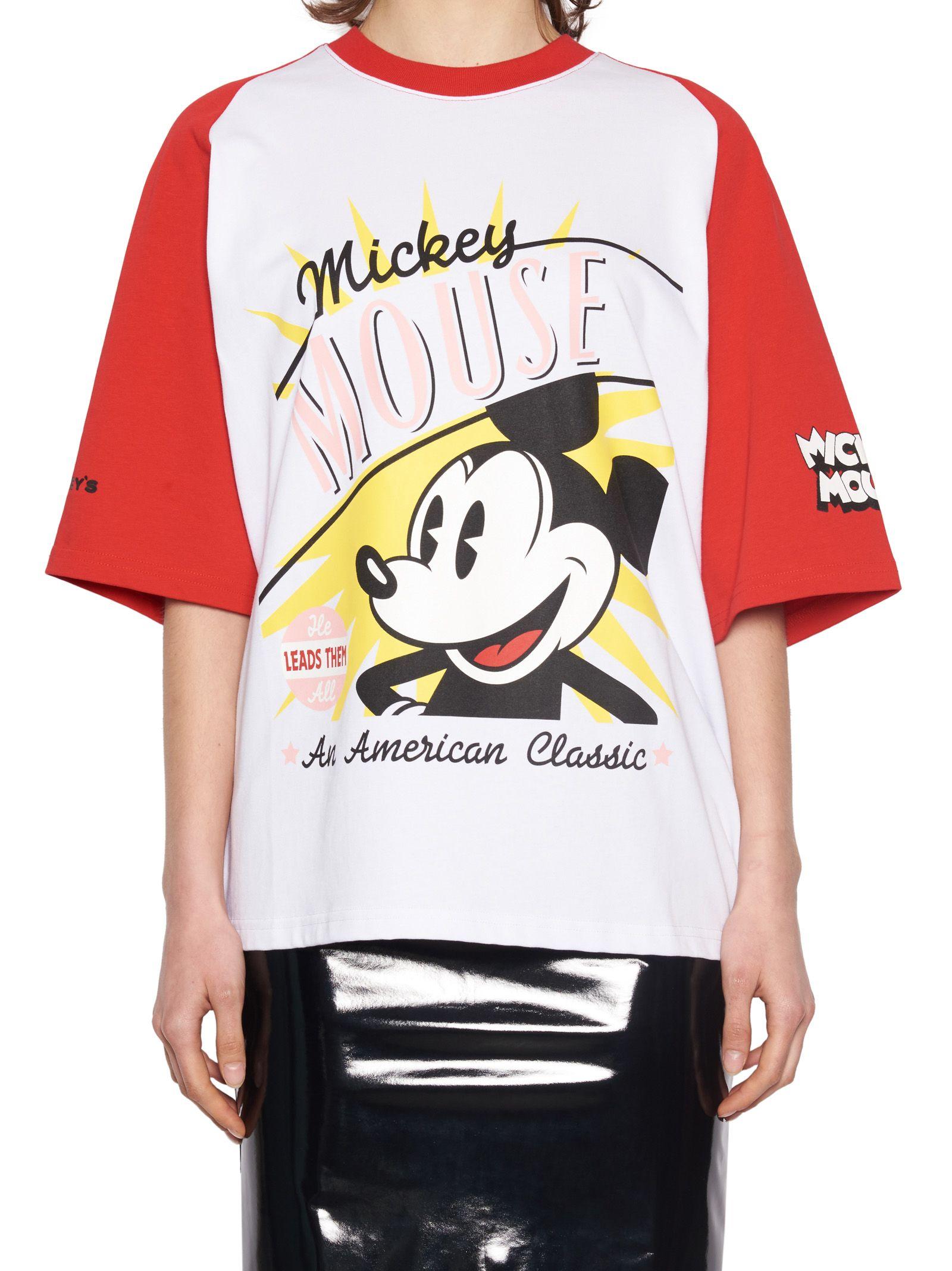 Gcds Gcds X Disney Vintage Mickey Mouse T-Shirt - White, Multicolor