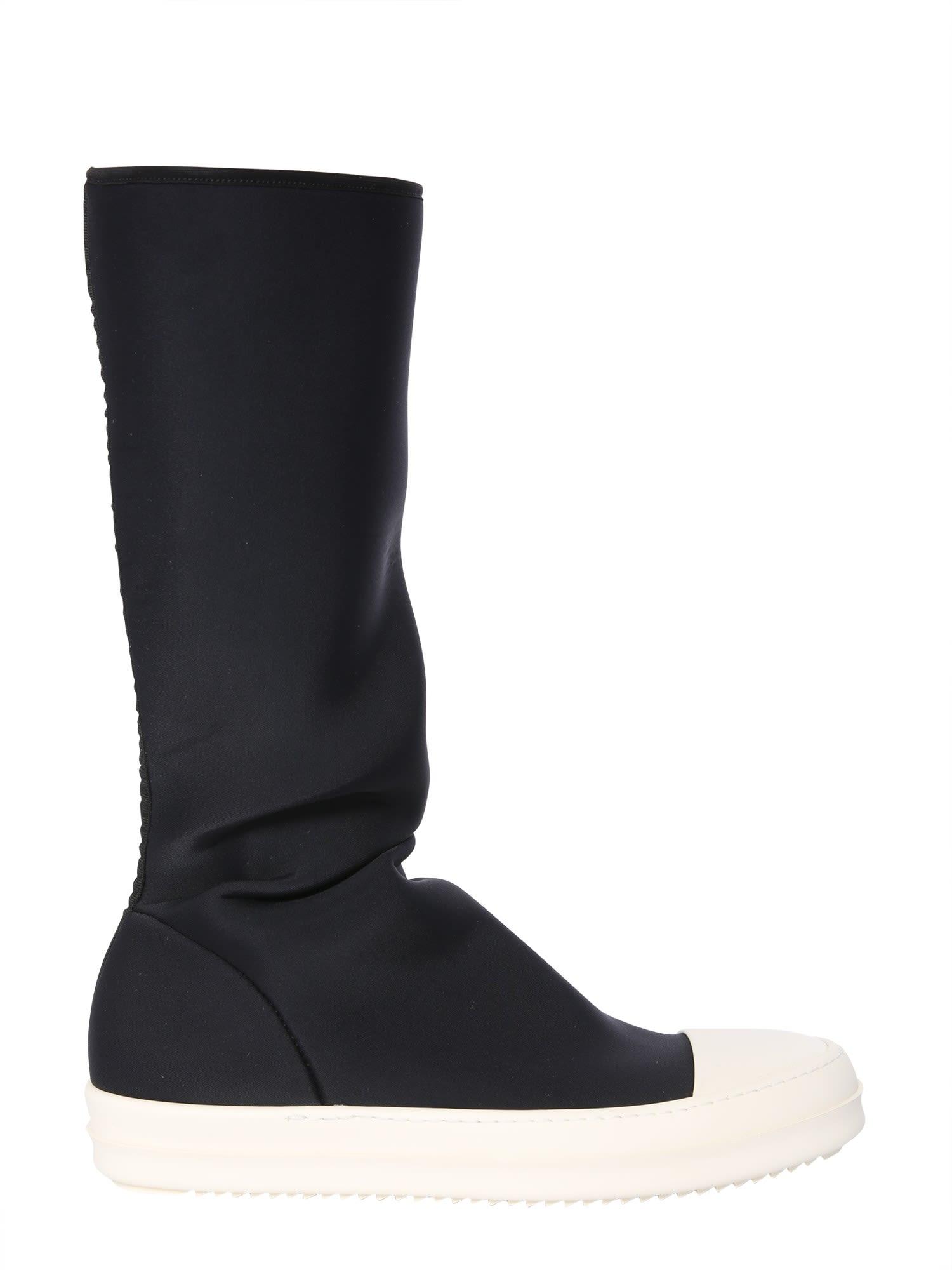 DRKSHDW Neoprene Socks Boots in Nero