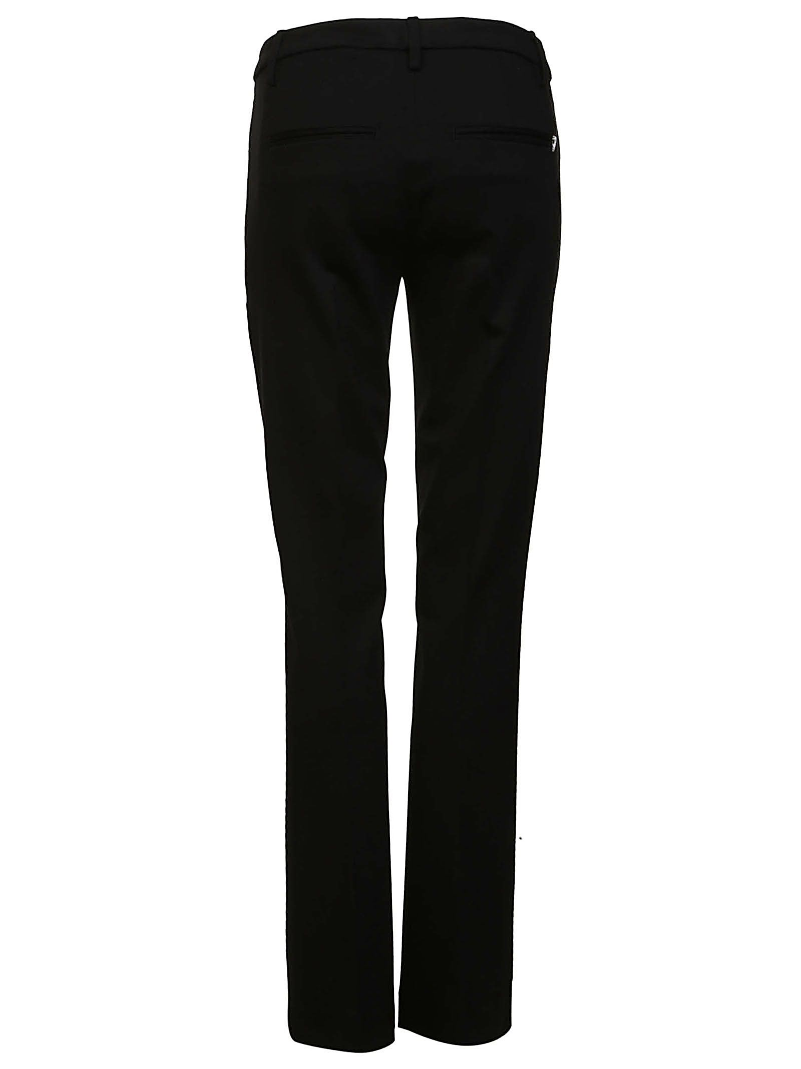 Pants for Women On Sale, Silver, viscosa, 2017, 26 Dondup