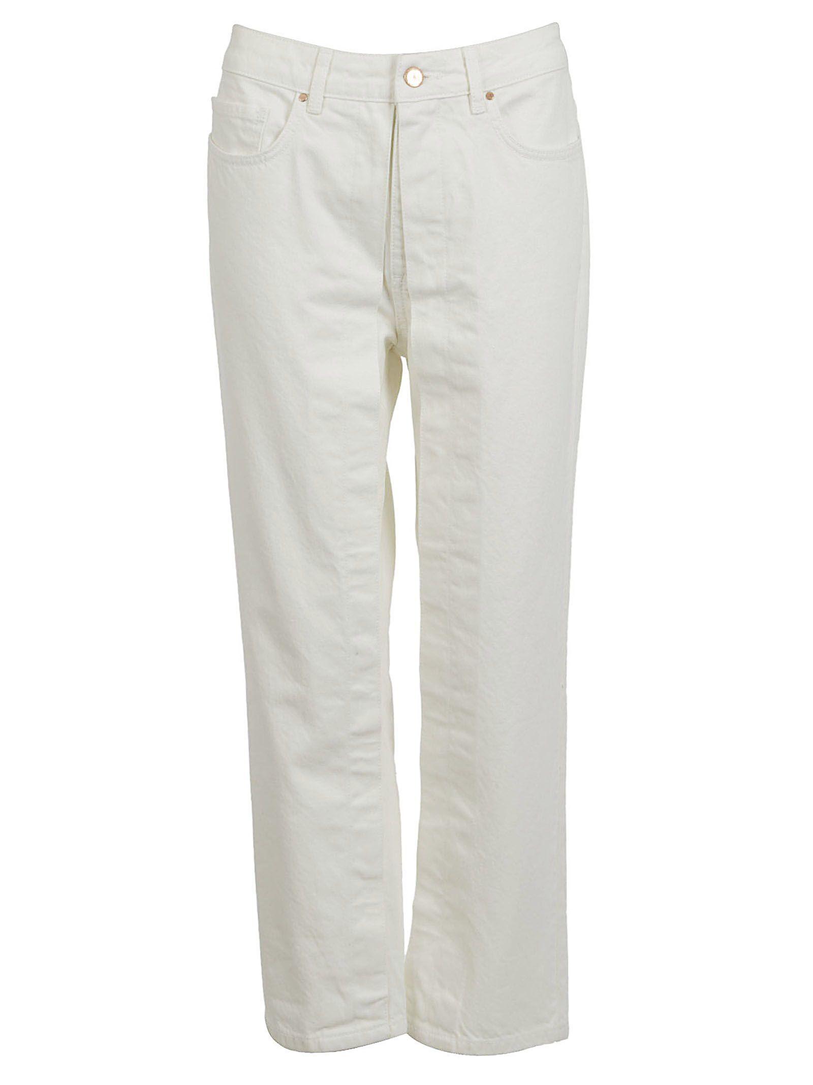 aalto female aalto fixed pleats jeans