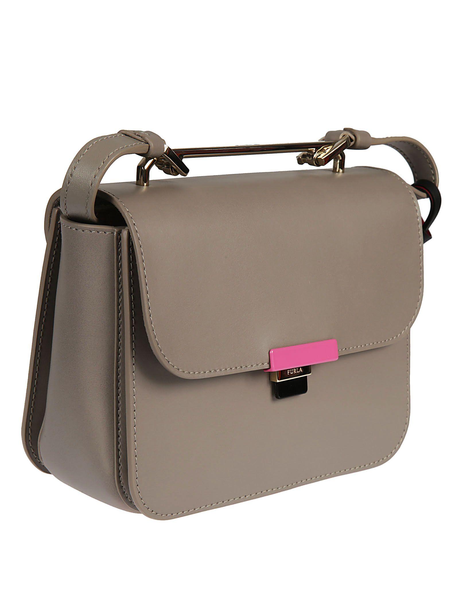 Shoulder Bag for Women, Sand, Leather, 2017, one size Furla