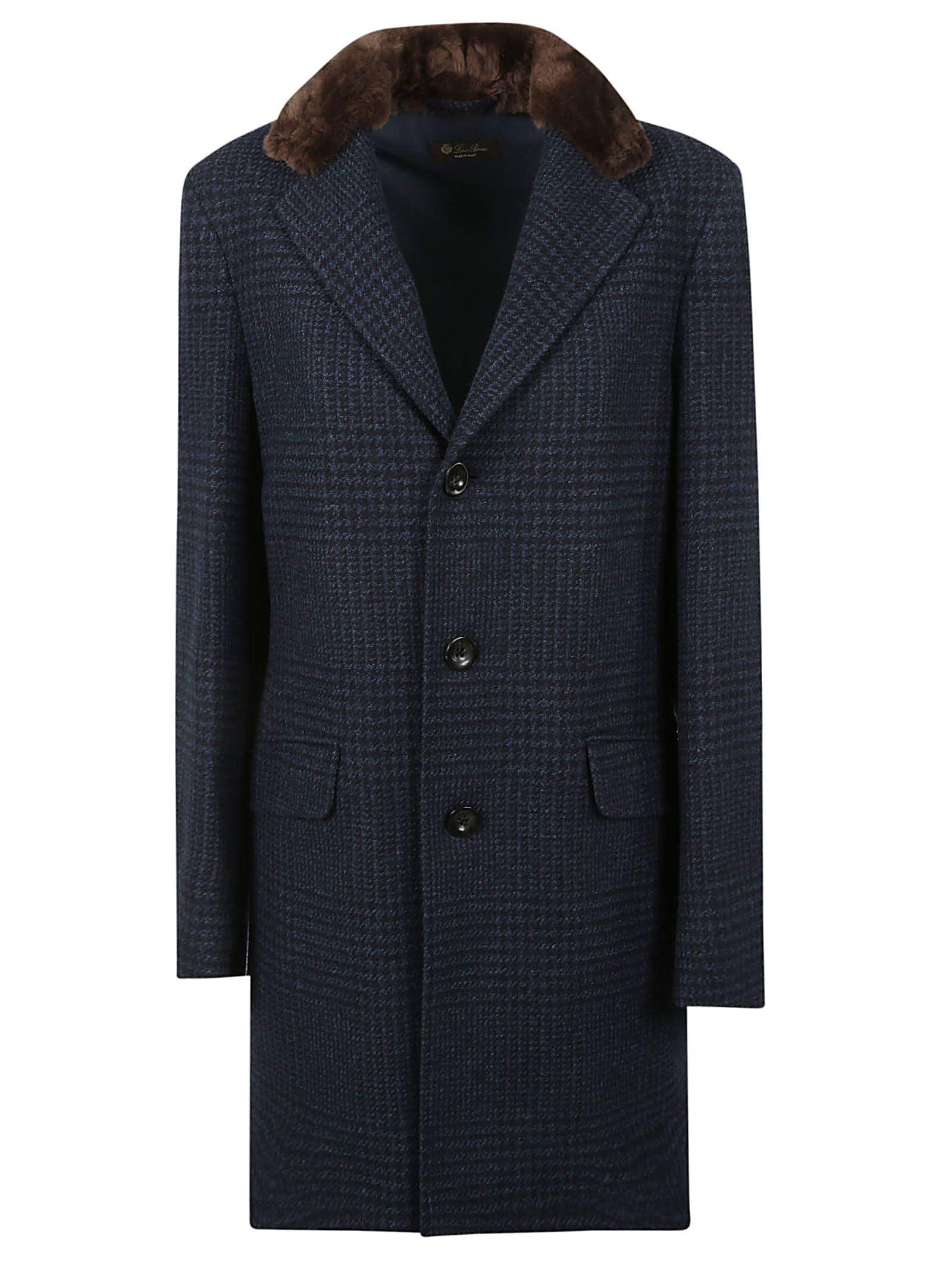 Loro Piana Fur Collar Coat
