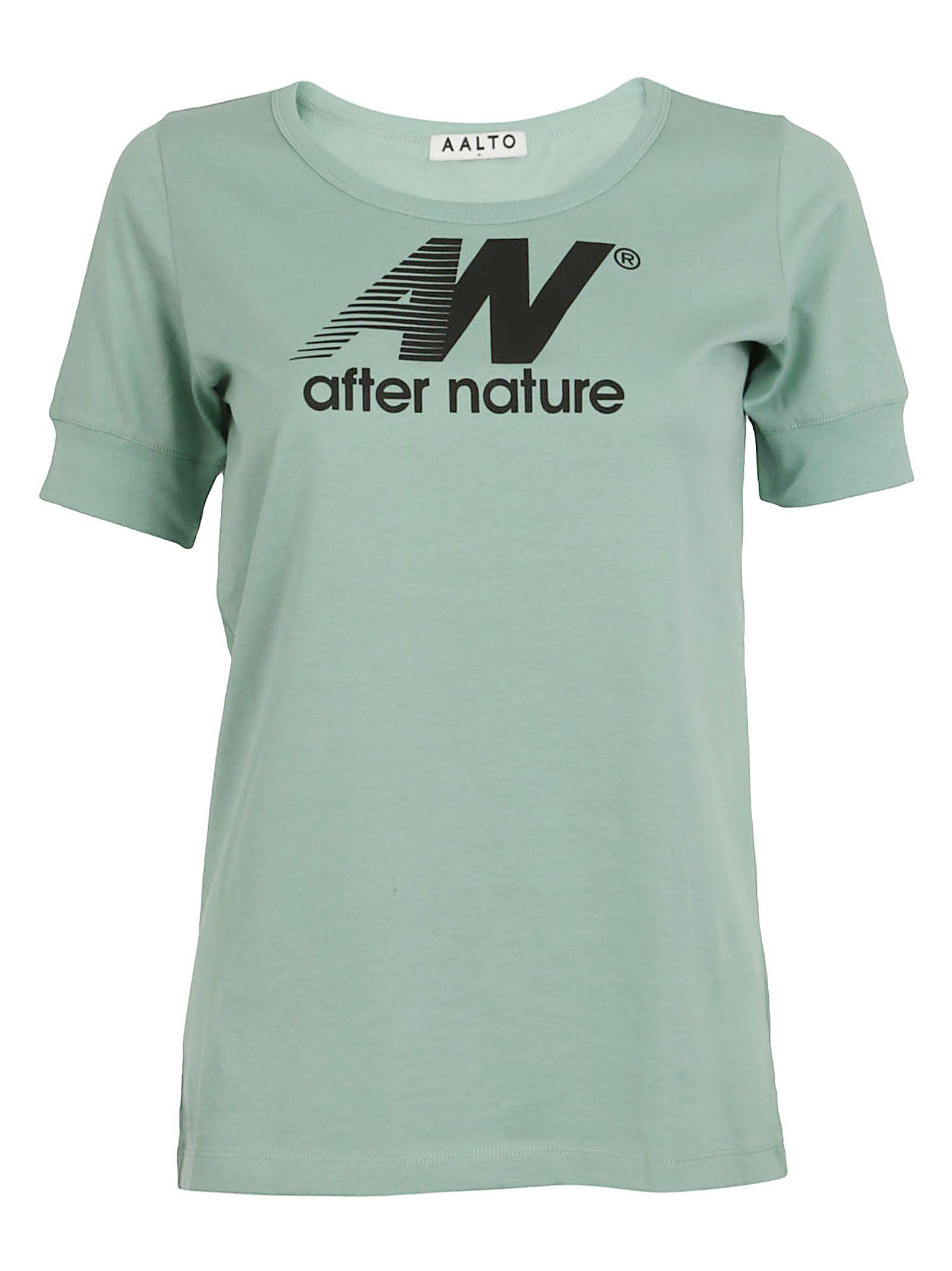 aalto female aalto after nature tshirt