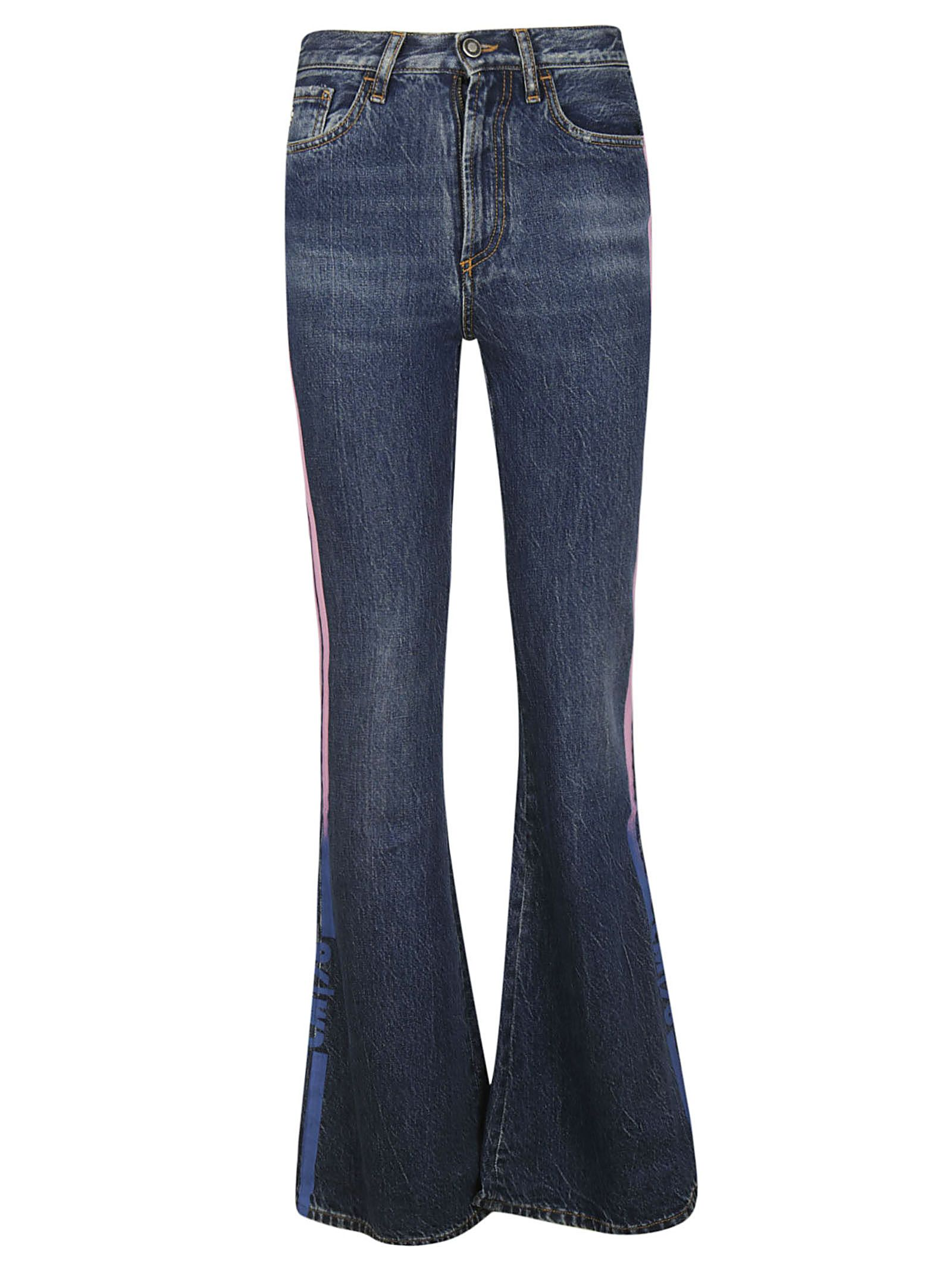 Marcelo Burlon County Of Milan SIDE STRIPED JEANS