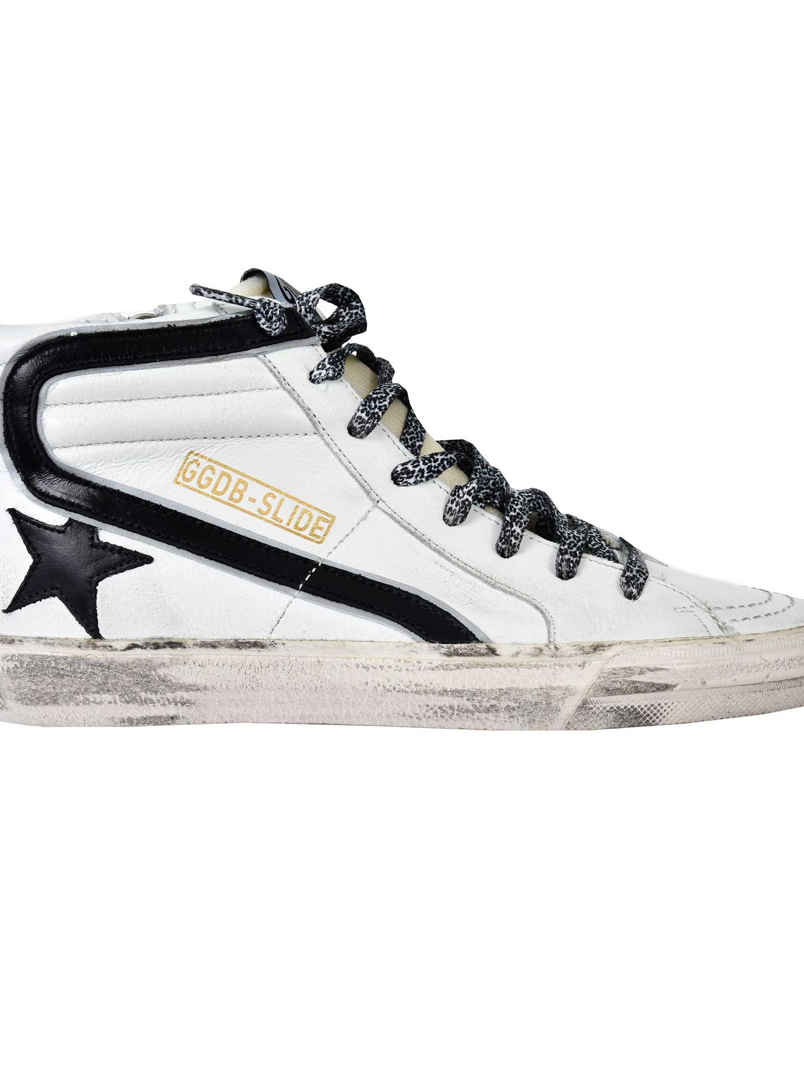 SLIDE HIGH-CUT SNEAKERS