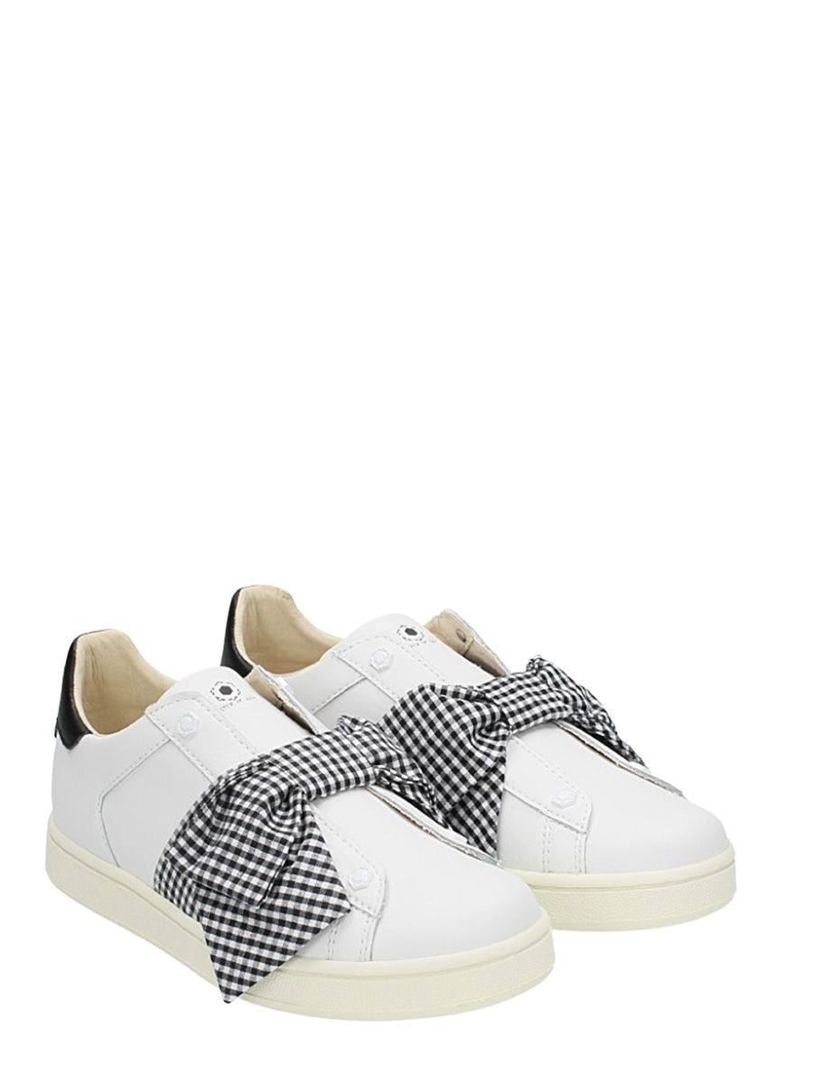 bow embellished sneakers - White MOA Master Of Arts m5llpNB