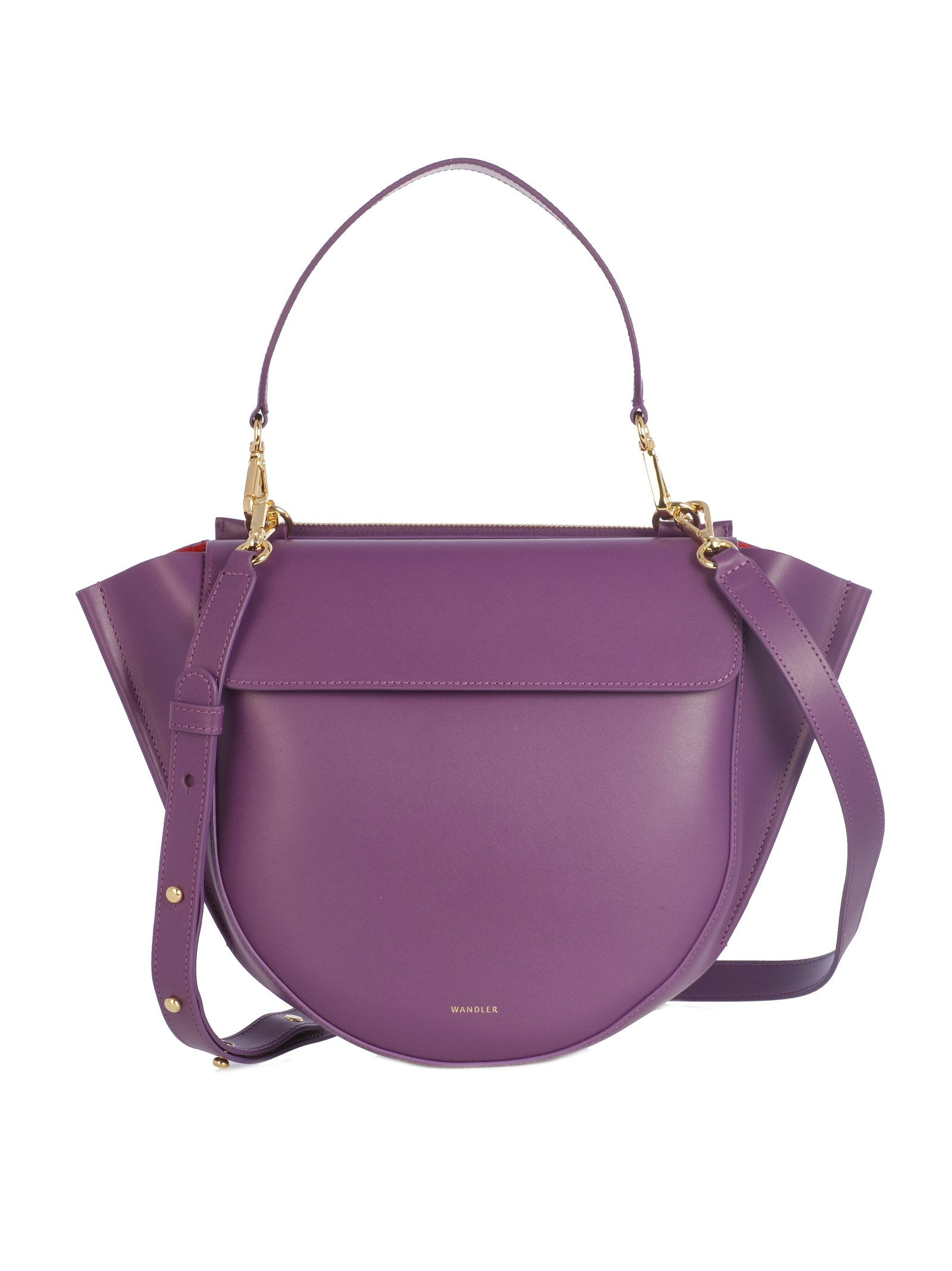 Hydrangea Medium Shoulder Bag, Purple Purple