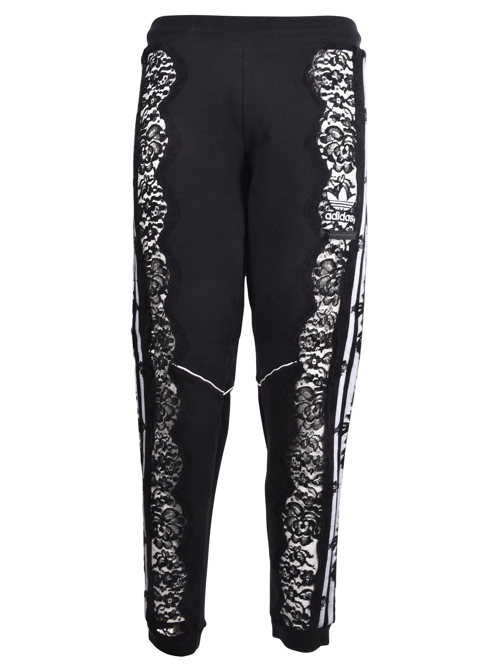 Stella Mccartney Lace Panel Track Pants