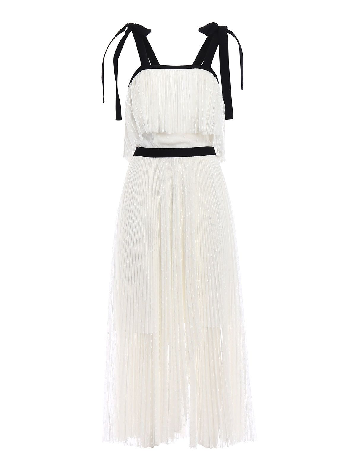 Dress for Women, Evening Cocktail Party On Sale, White, polyestere, 2017, 10 Philosophy di Lorenzo Serafini