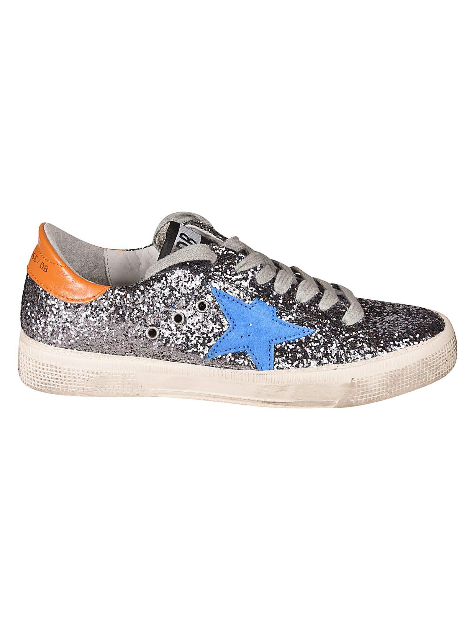 Golden Goose Deluxe Brand Superstar Glitter Coated Sneakers