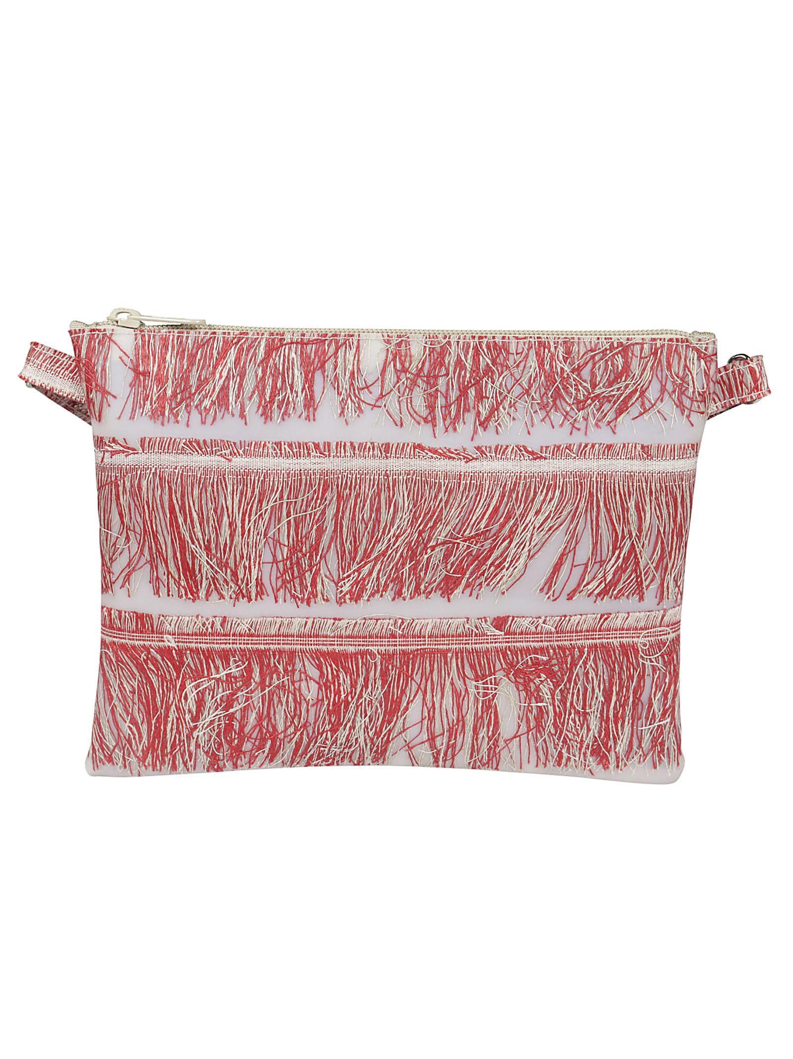 Luisa Cevese Frayed Detail Shoulder Bag