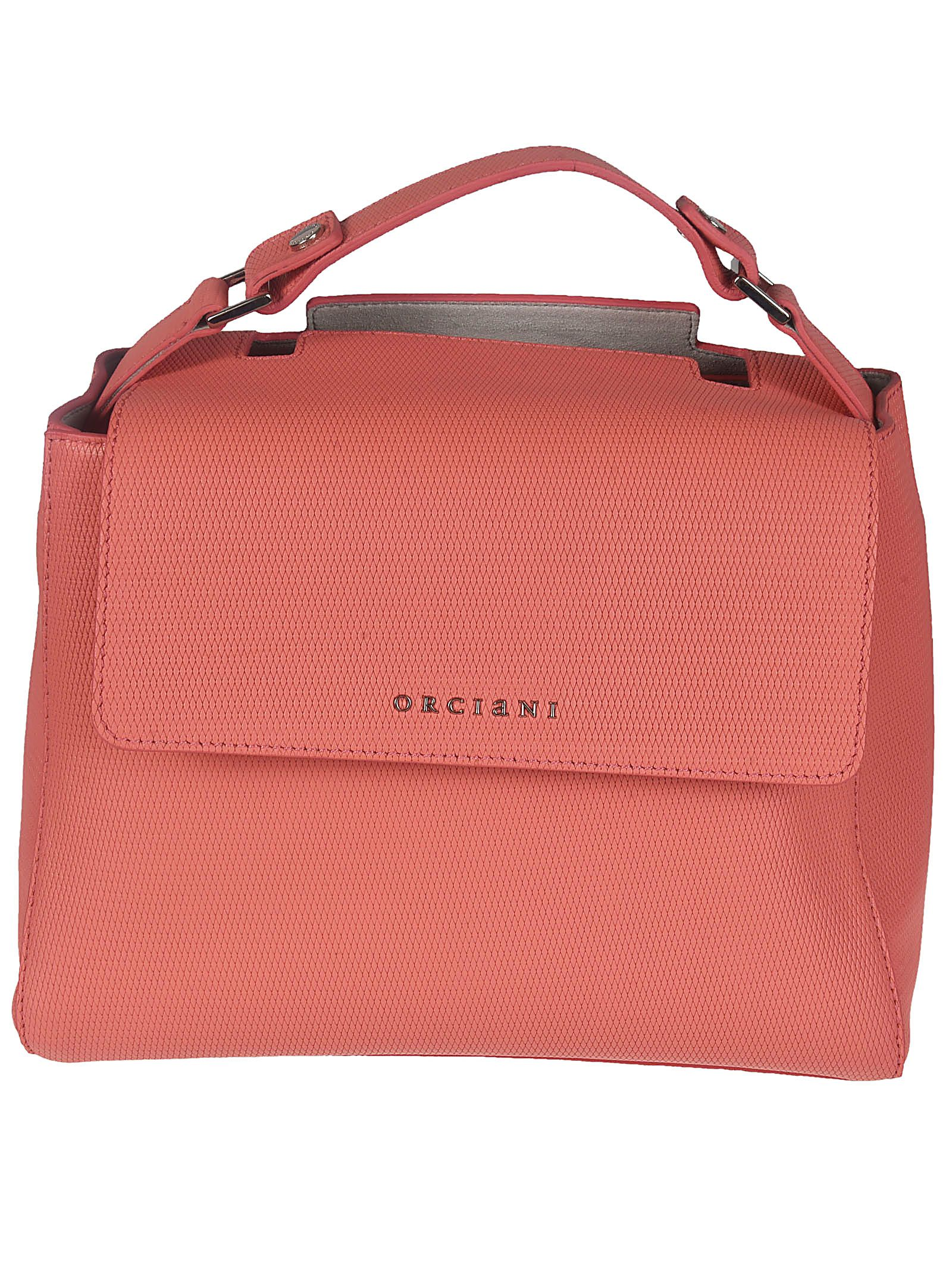 Handbags On Sale, Strawberry Red, Leather, 2017, one size Orciani