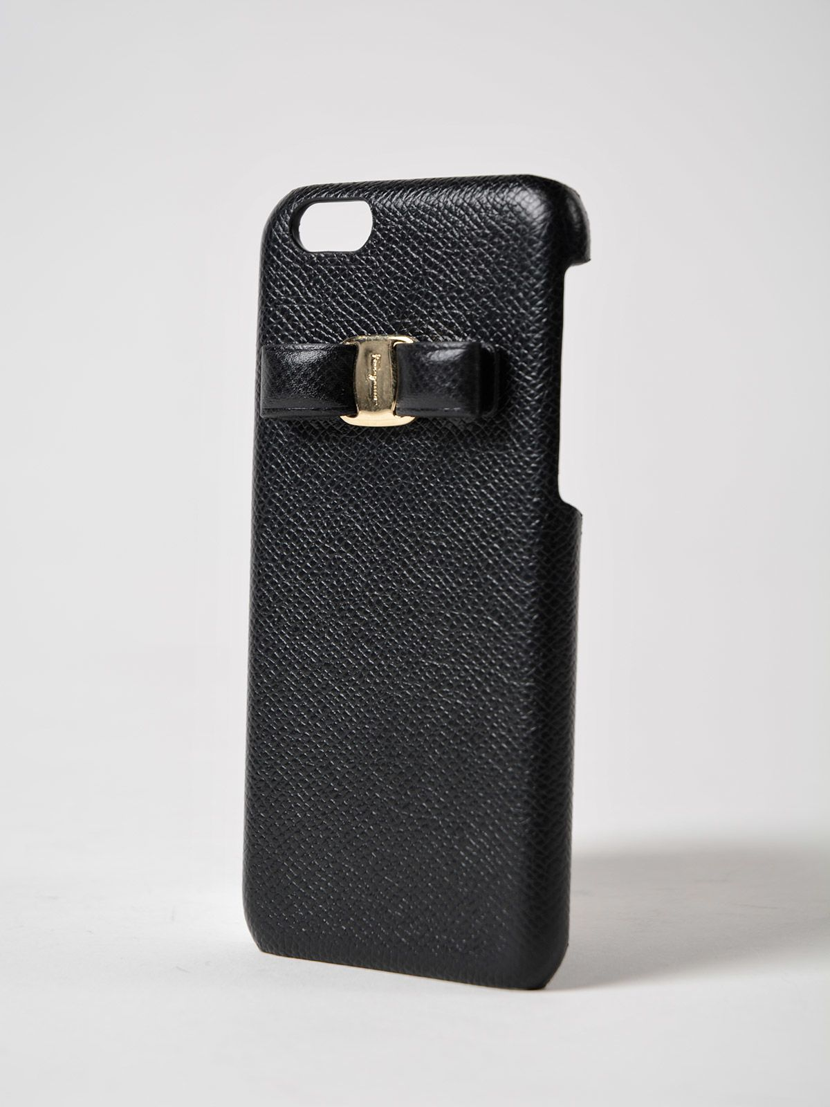 iPhone Cases On Sale, Iphone 6 Cover, Black, Leather, 2017, One size Salvatore Ferragamo