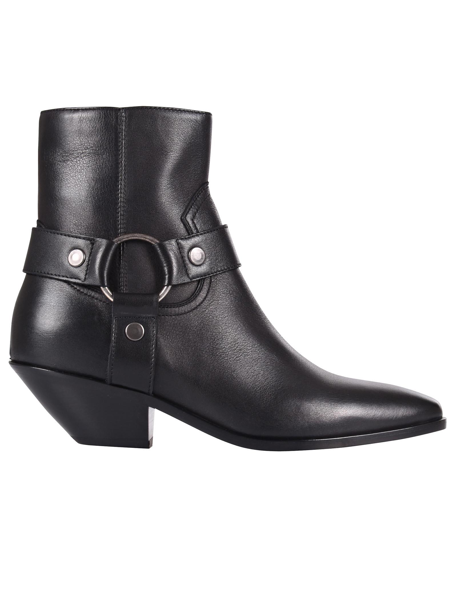 Saint Laurent West 45 Ankle Boots