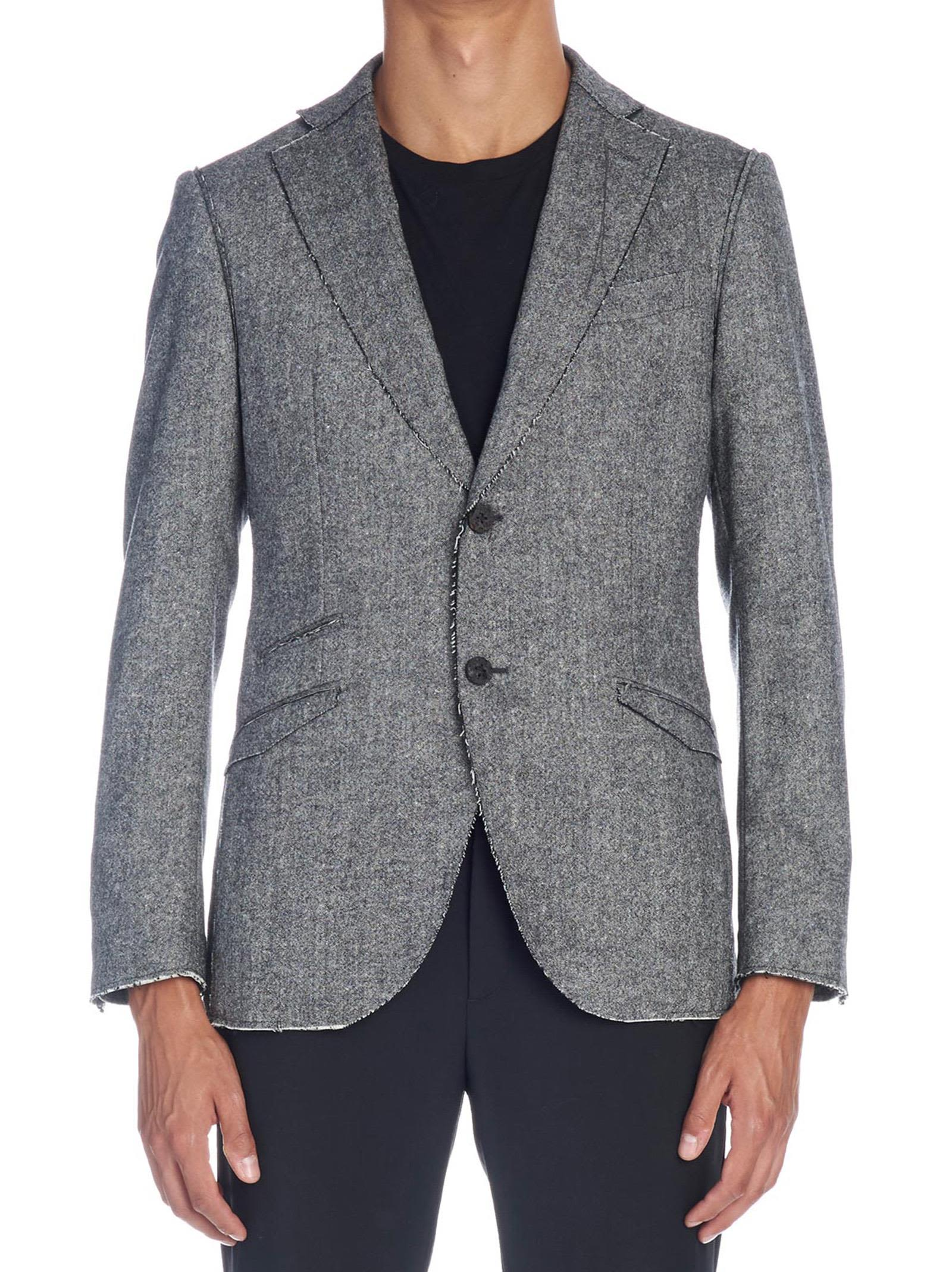 MAURIZIO MIRI 'Vincent' Jacket in Grey