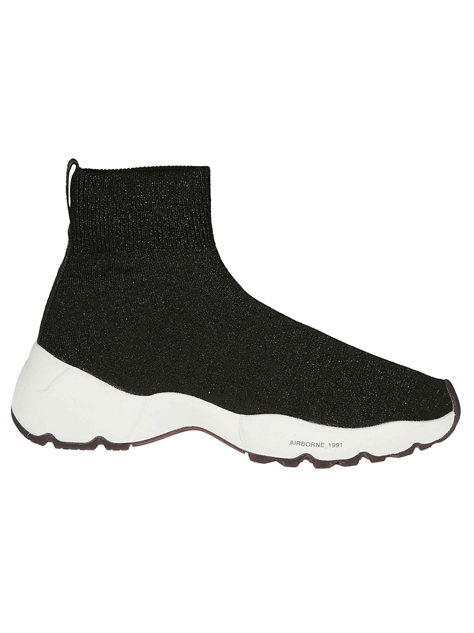 OXS Oxs Airborne Sock Sneakers in Nero