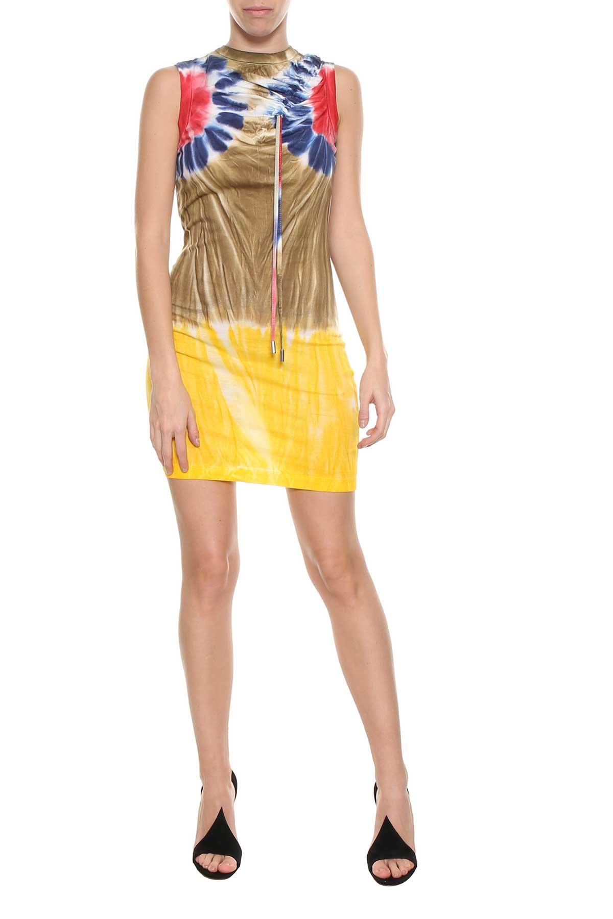 Tie dye sleeveless dress Dsquared2 New Style D8Ny8c1Ul