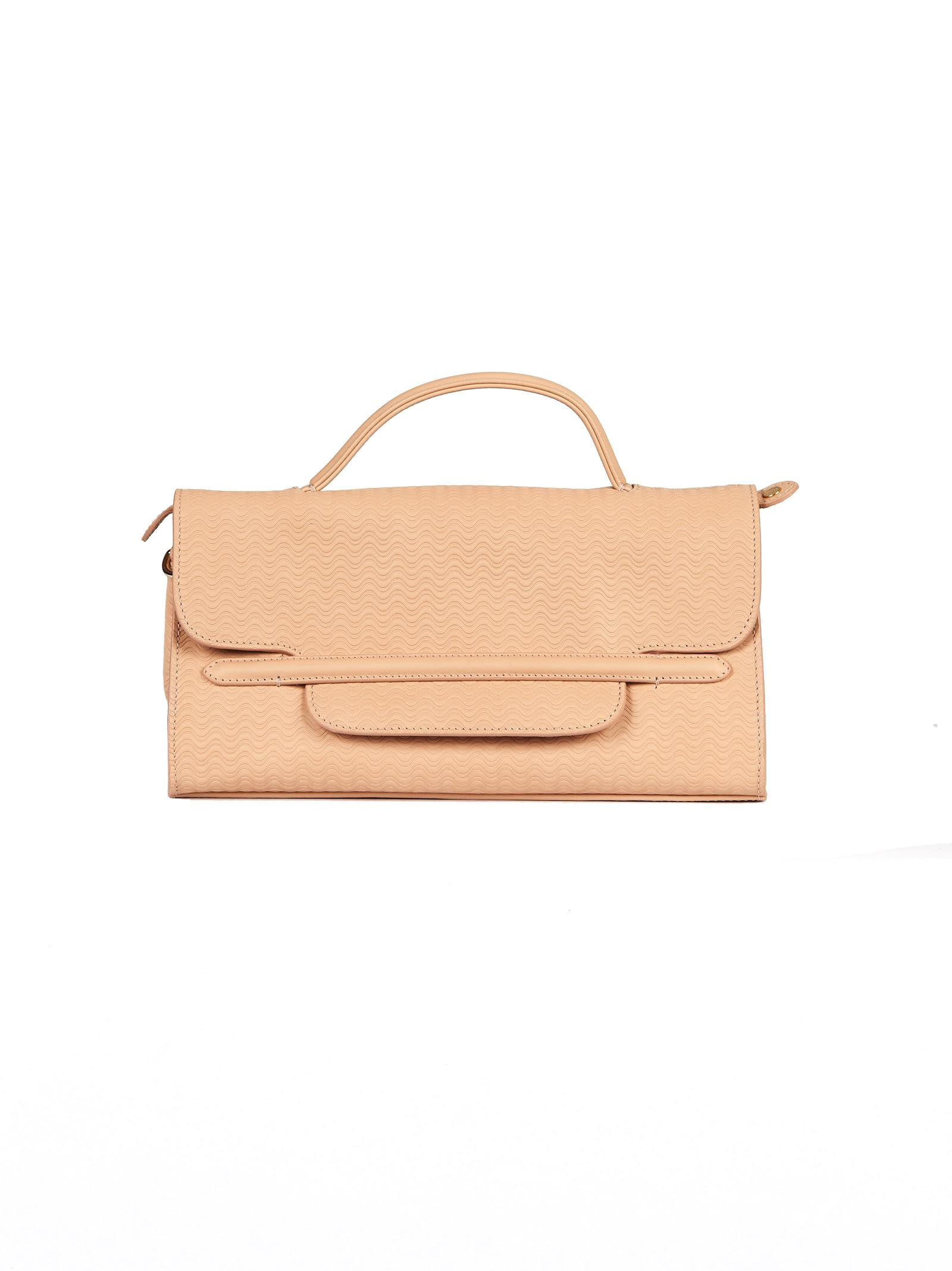 ZANELLATO Nina Shoulder Bag in Nudo