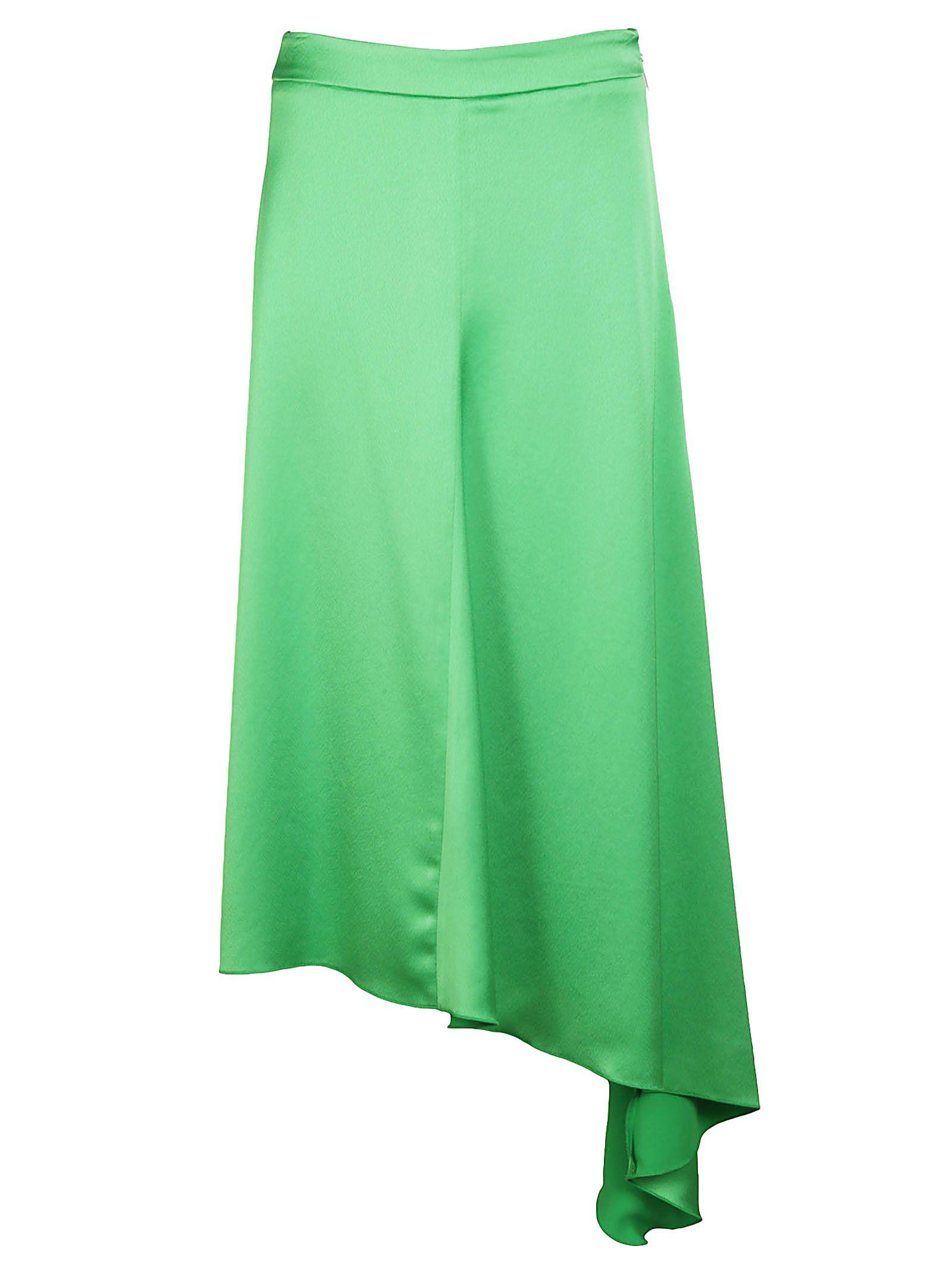 msgm -  Asymmetric A-line Skirt