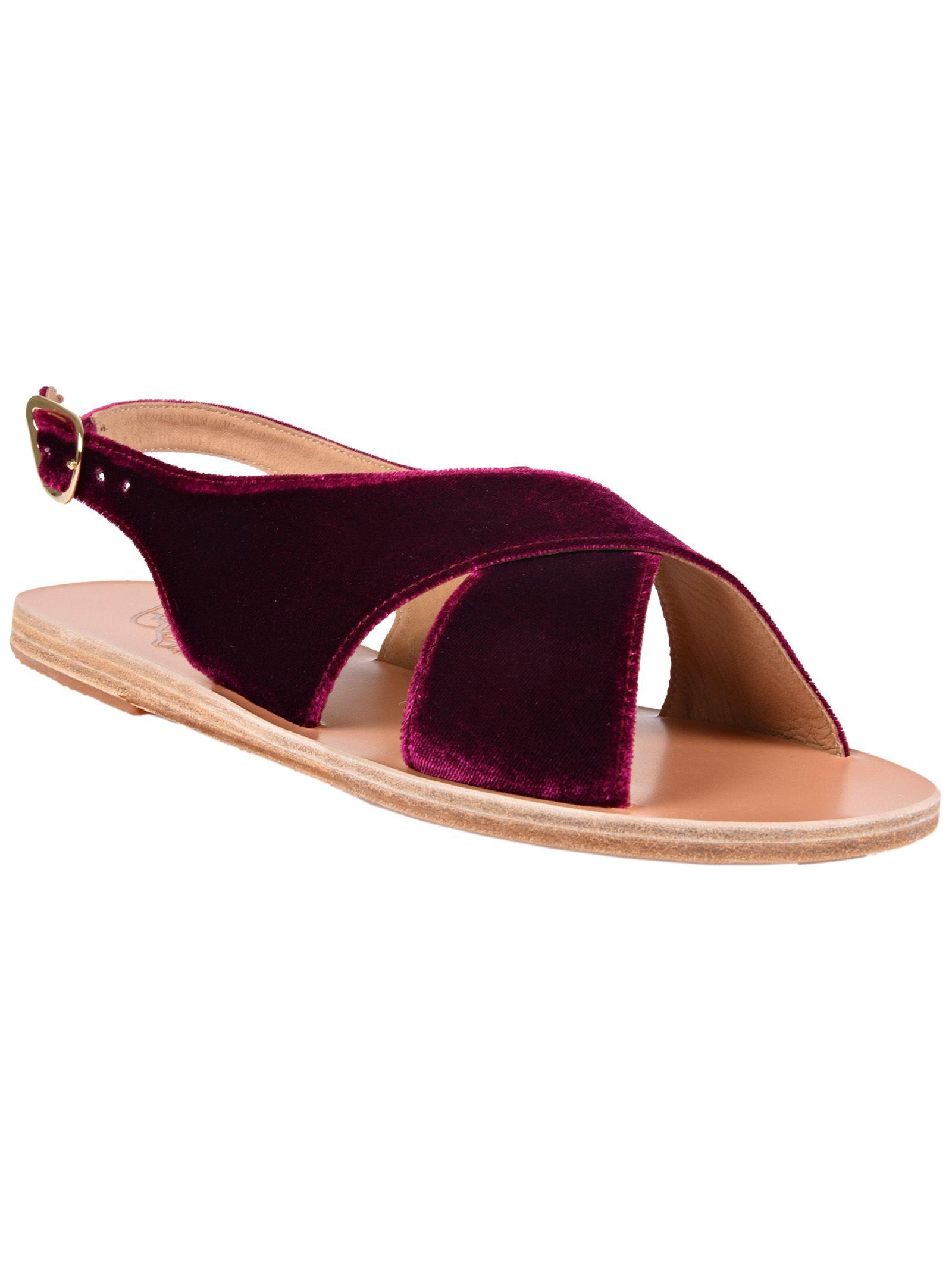 Maria sandals - Pink & Purple Ancient Greek Sandals CKga6BjMu
