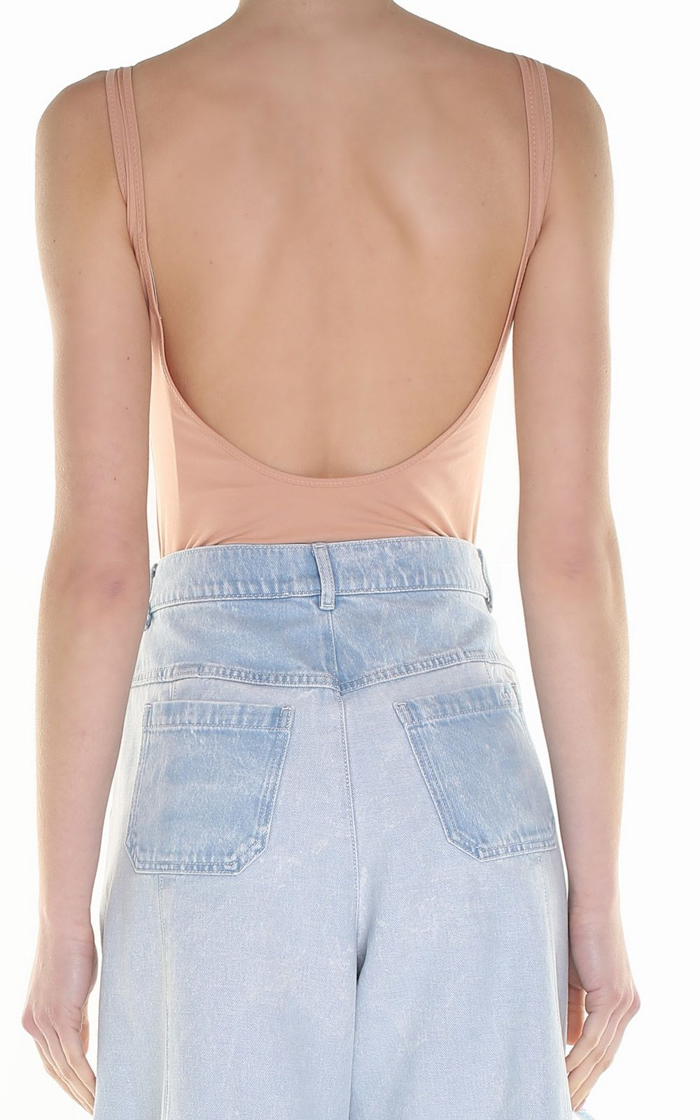 Wilky cotton-blend bodysuit Acne Studios Cheap Usa Stockist Brand New Unisex For Sale Clearance Recommend Fashionable Sale Online cvBlja