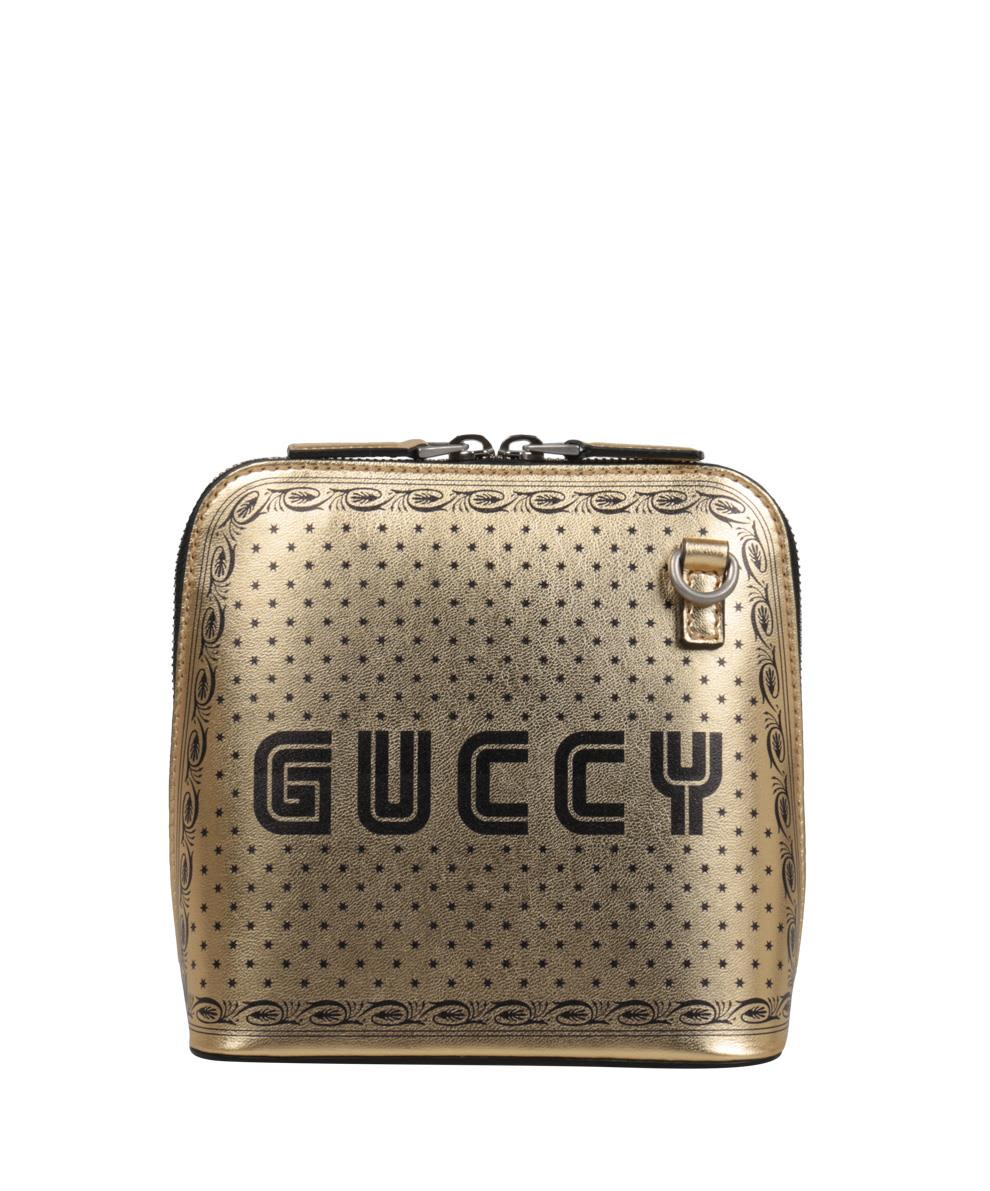 GUCCI GUCCY LEATHER MINI BAG