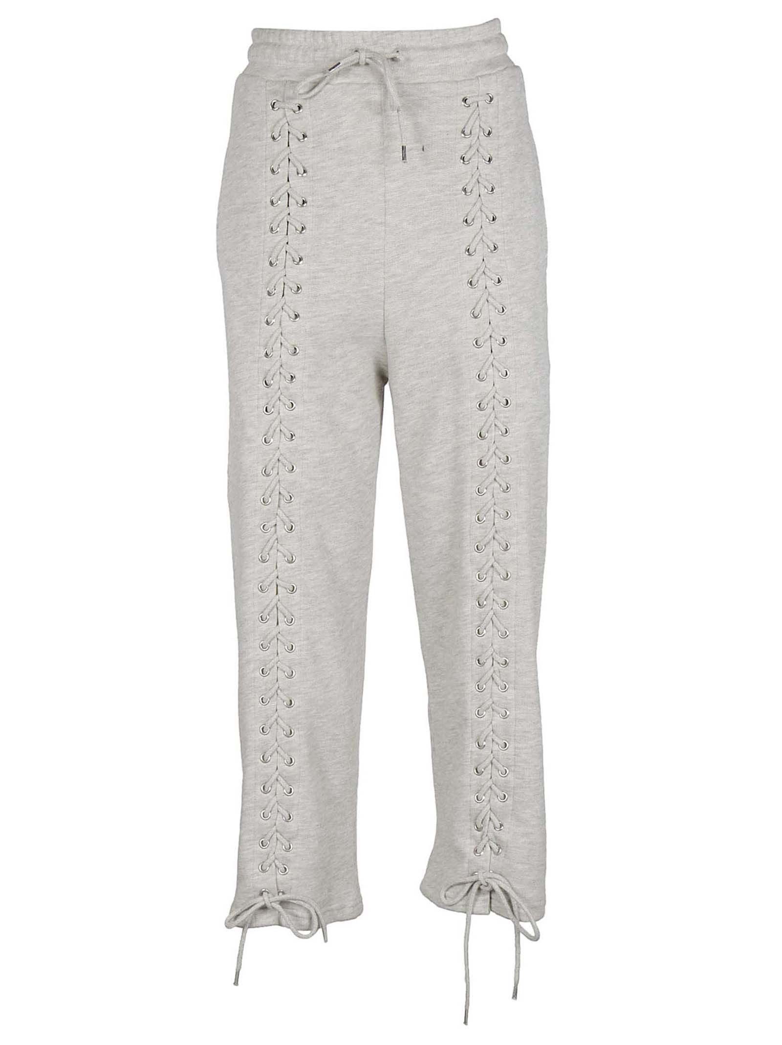 LACE-UP SWEATPANTS from Italist.com