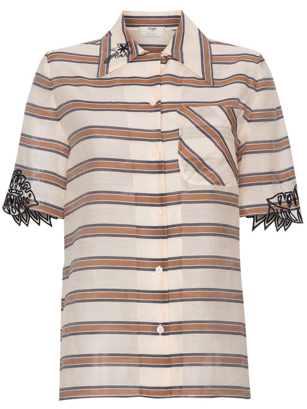 Shaded Stripes Shirt 10628450