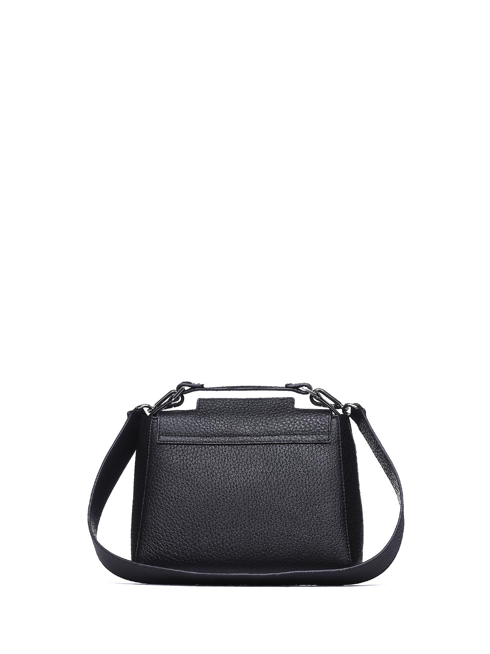 ... Orciani Sveva Small Leather Handbag - NERO a60ec1f4b7184