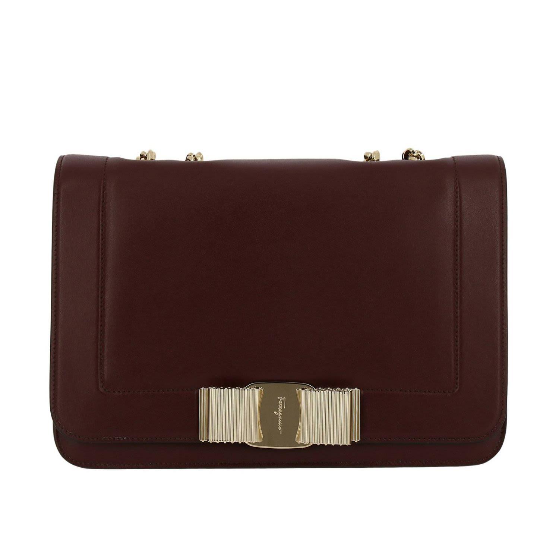 95ab01ef2aa3 Salvatore Ferragamo Crossbody Bags Shoulder Bag Women Salvatore Ferragamo -  burgundy ...