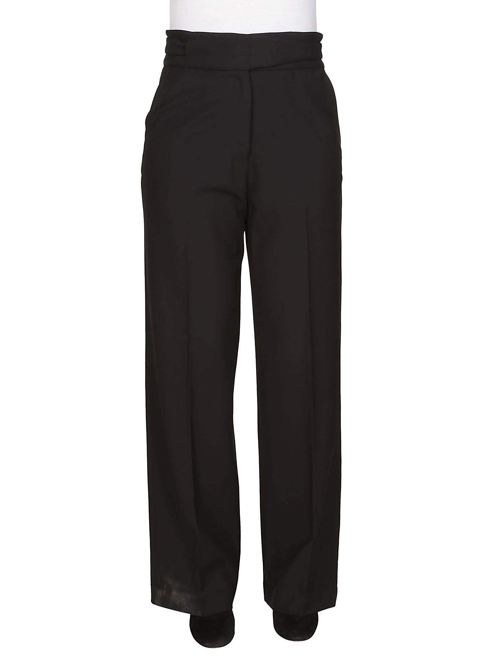 pierna negro Flaneur ancha de Maison pantalones SHtWwqnqX