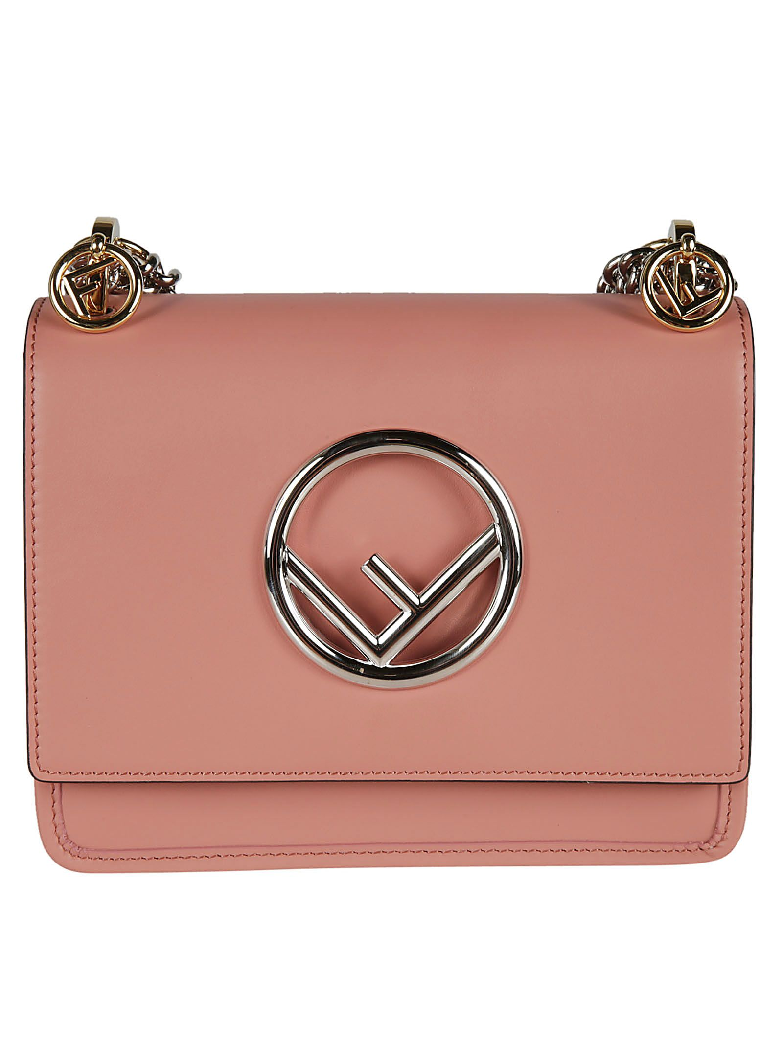 aafa38fd13 Fendi Small Kan I F Shoulder Bag - pink ...