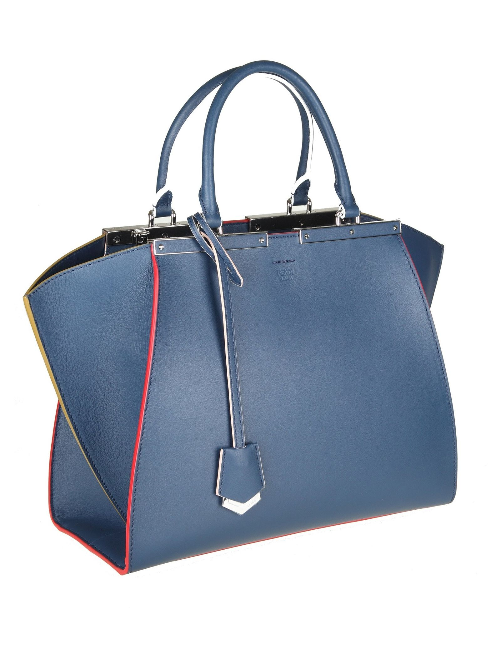 422d793ca8 ... Fendi 3jour Shopping In Skin Color Blue - BLUE ...