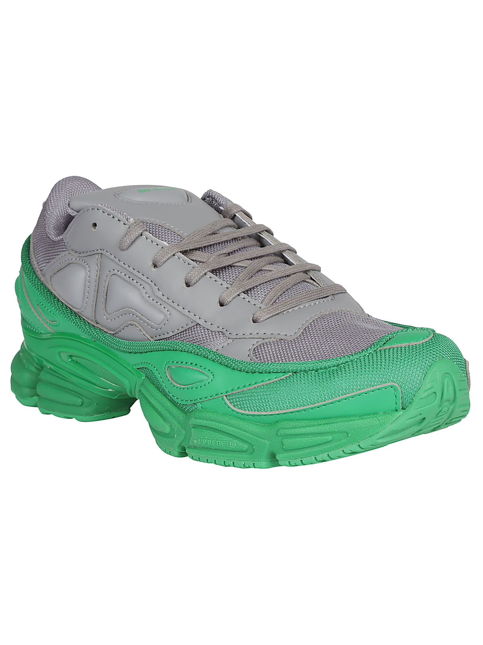 best service 2203d 744b2 ... Adidas By Raf Simons Rs Ozweego Sneakers - Greengrey ...