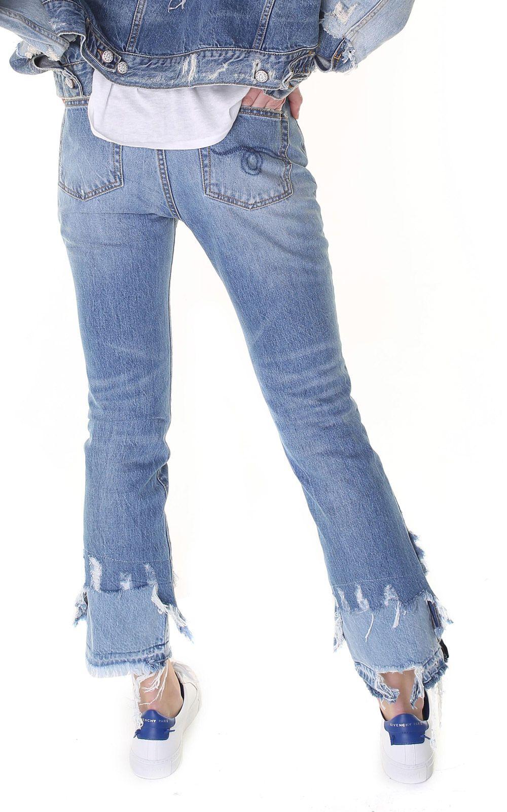 8f17346a7ed italist   Best price in the market for R13 R13 Kick Shredded-hem ...