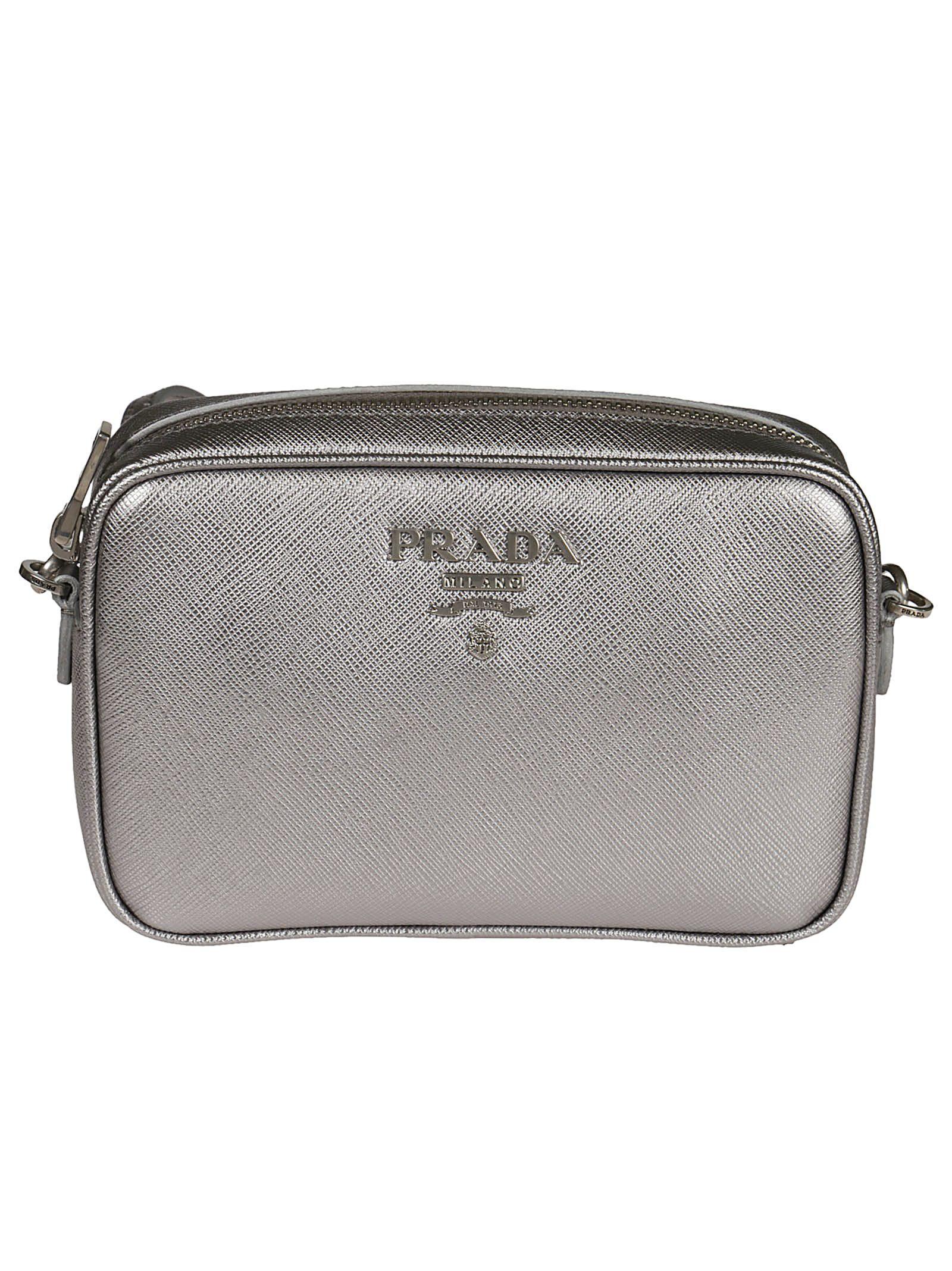 1b1b5cadf7c312 italist | Best price in the market for Prada Prada Logo Plaque ...