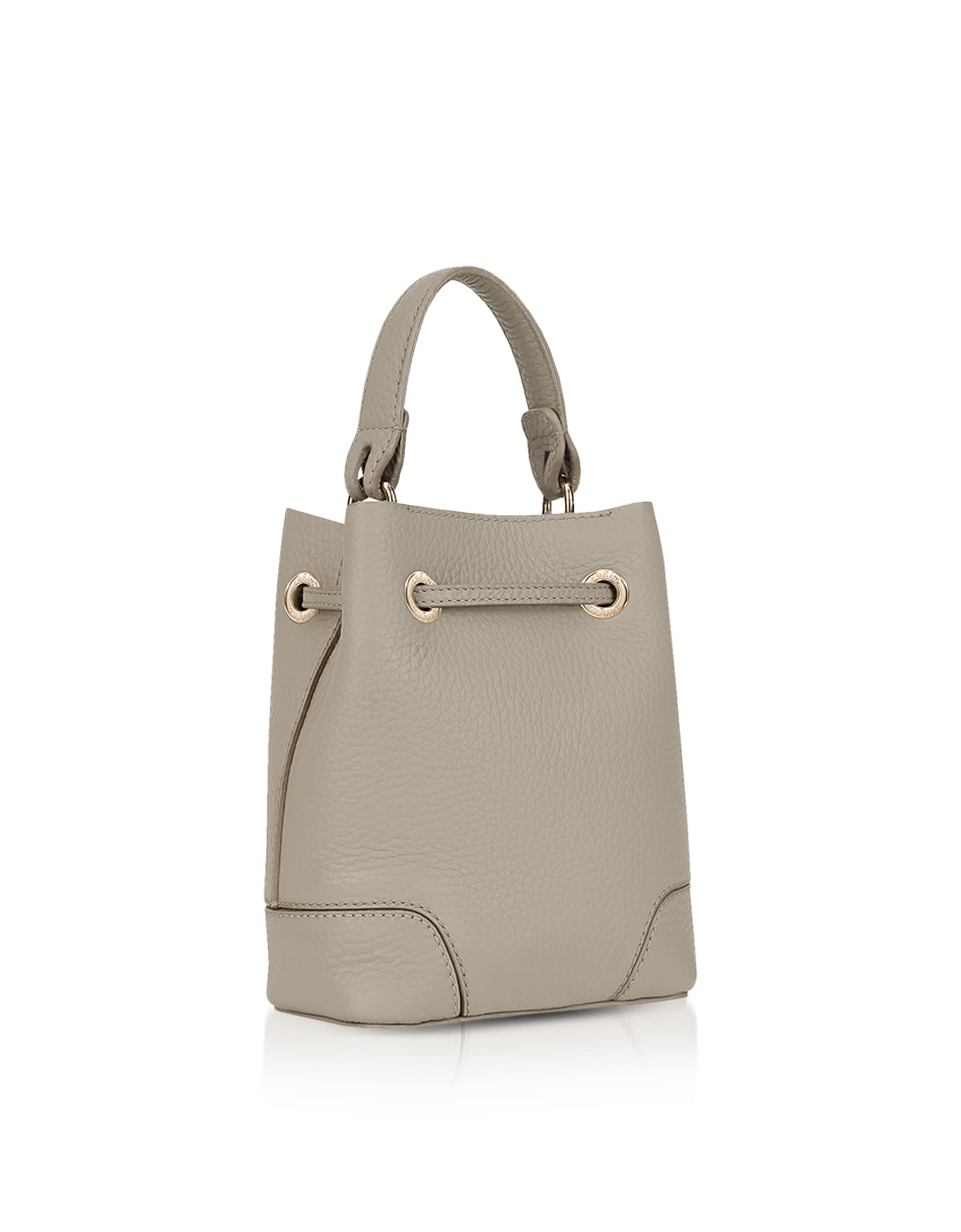 Italist Best Price In The Market For Furla Stacy Mini Bag Drawstring Bucket Sand