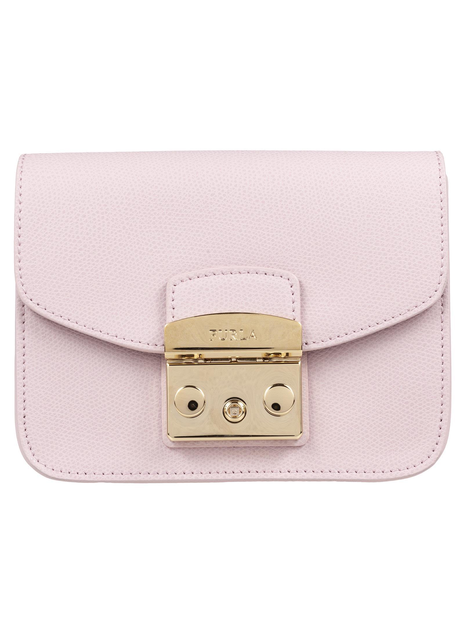 Italist Best Price In The Market For Furla Mini Metropolis Shoulder Bag Camelia