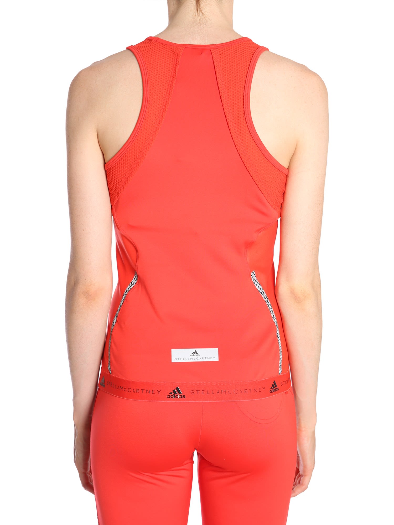 online store fc33e 8dc84 ... Adidas by Stella McCartney Run Tank Top - ROSSO ...
