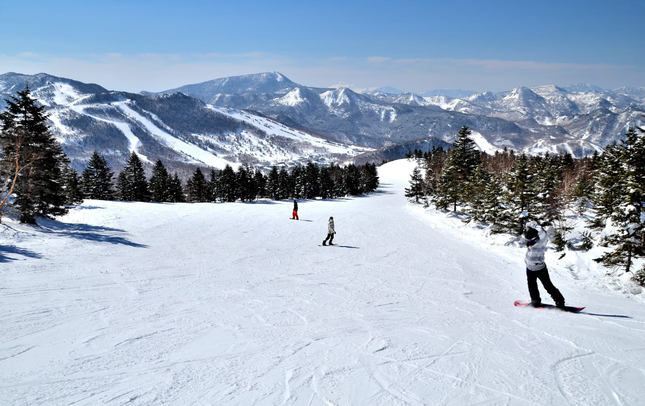shiga-kogen highlands area