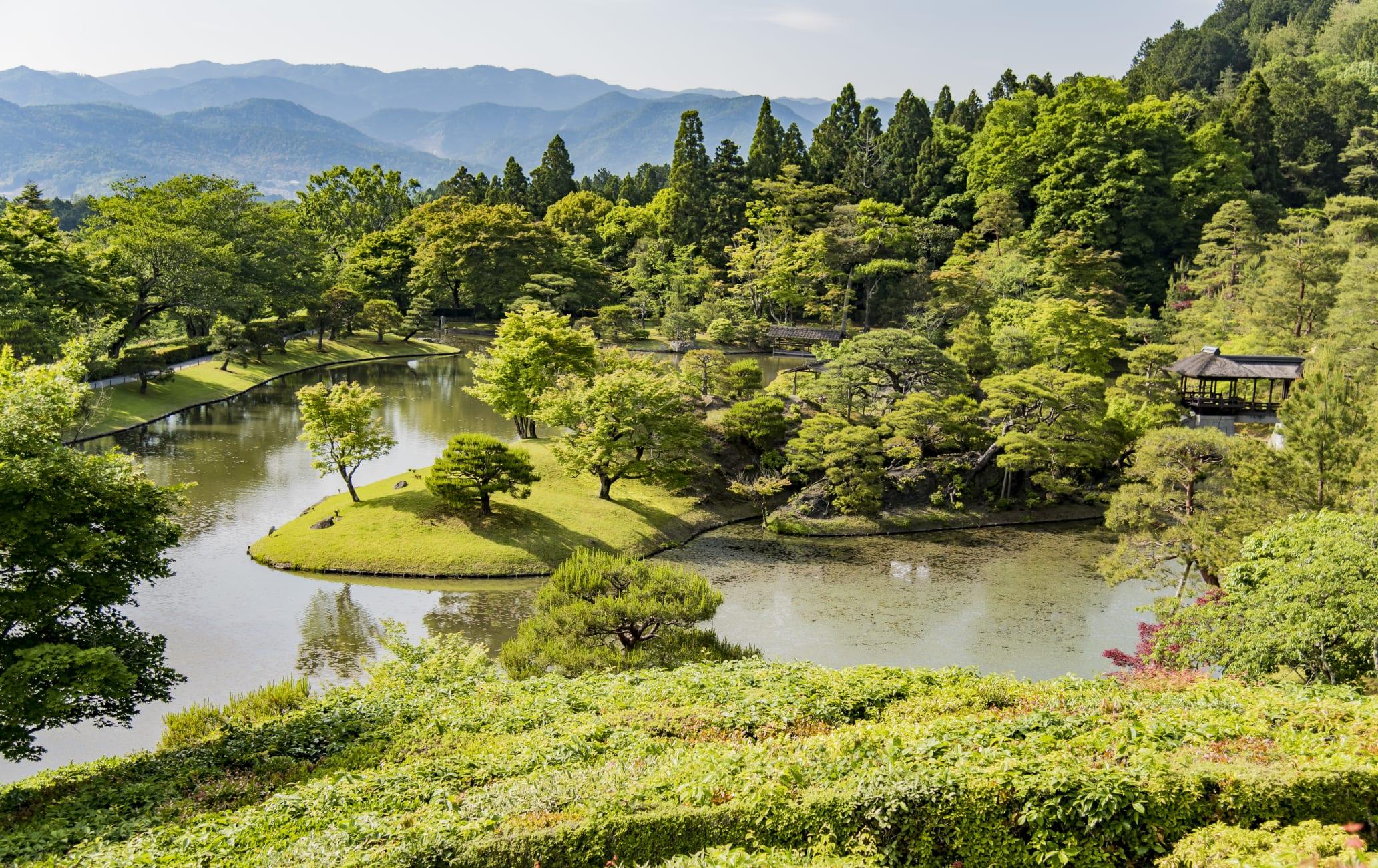 Shugaku-in Rikyu Teien Temple Garden