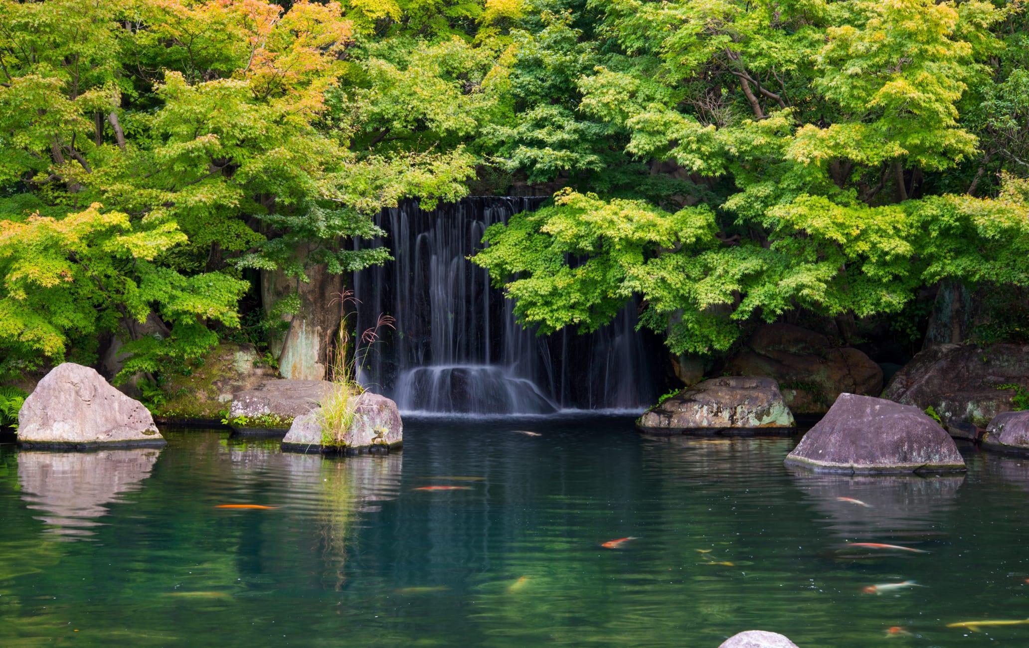 Himeji Castle Nishioyashiki-ato Garden Koko-en