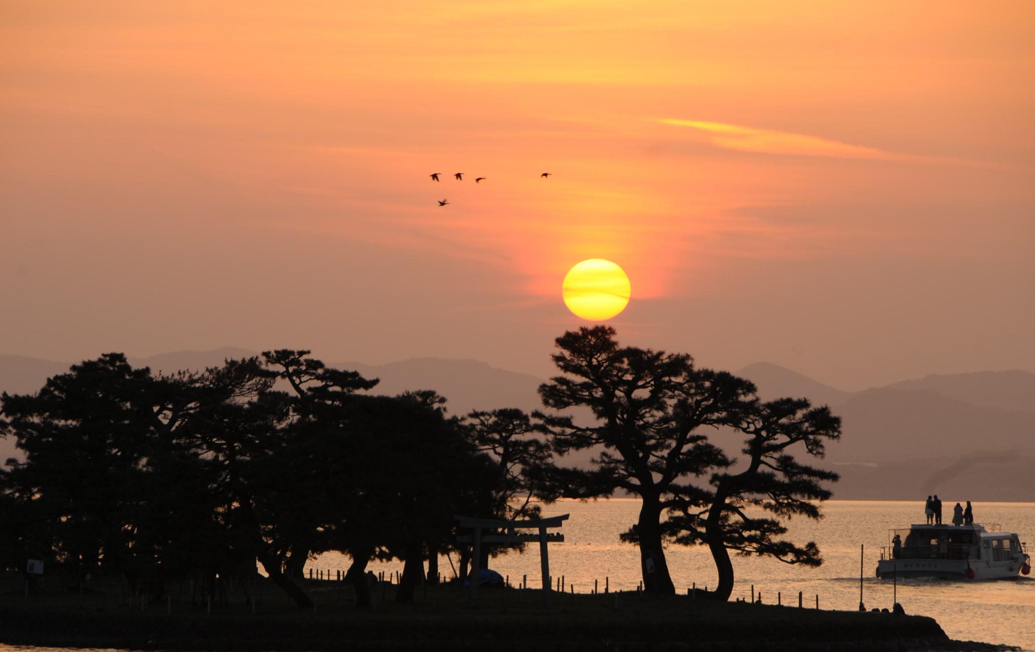 Lake Shinji-ko Area