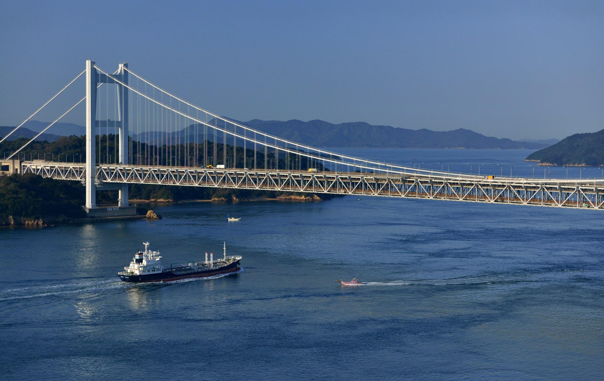 Seto-ohashi Bridge Area