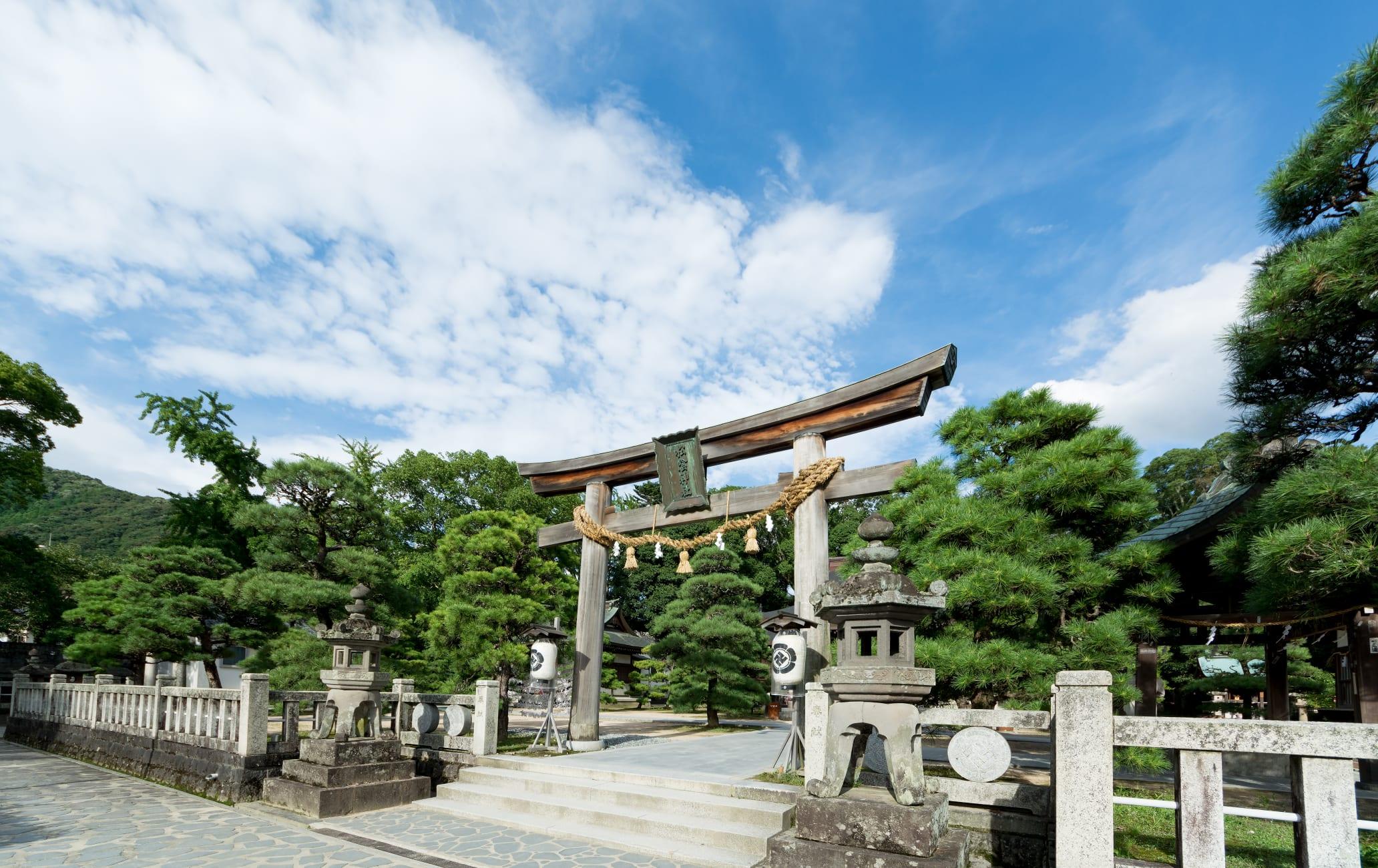 Shoin-jinja Shrine