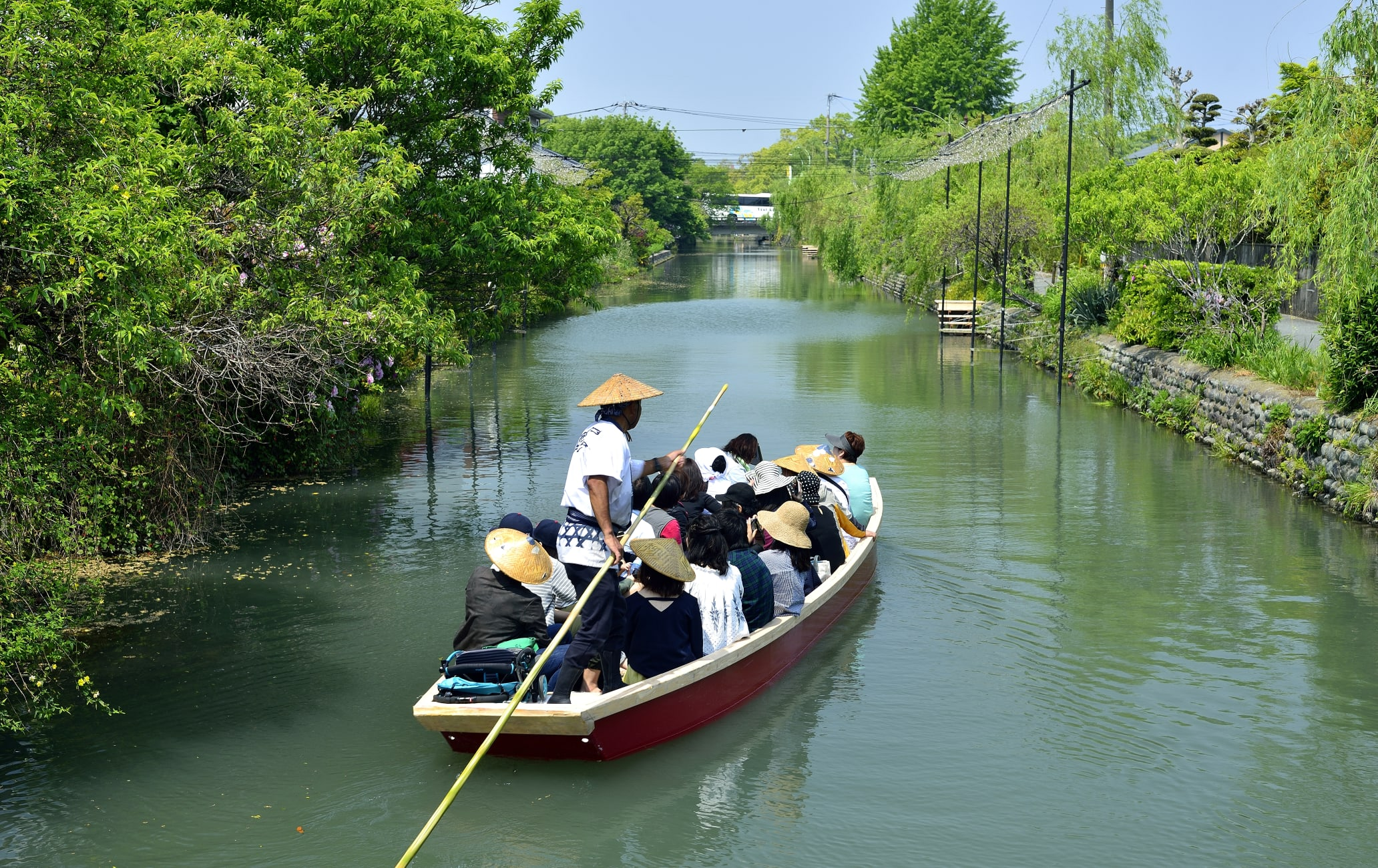 Yanagawa River rapids ride